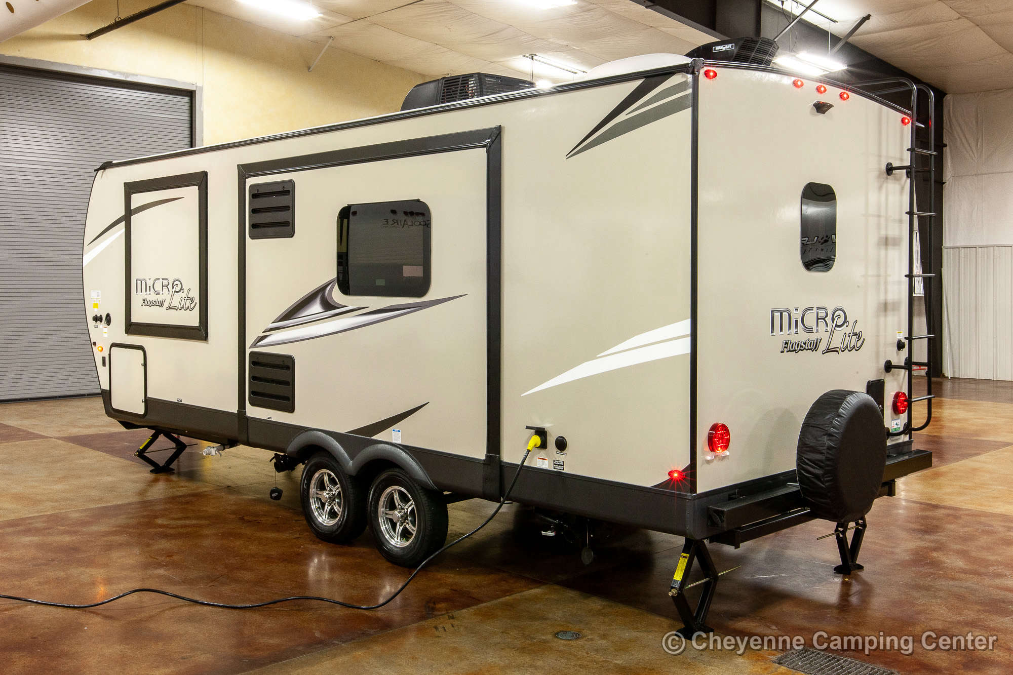 2021 Forest River Flagstaff Micro Lite 25FBLS Travel Trailer Exterior Image