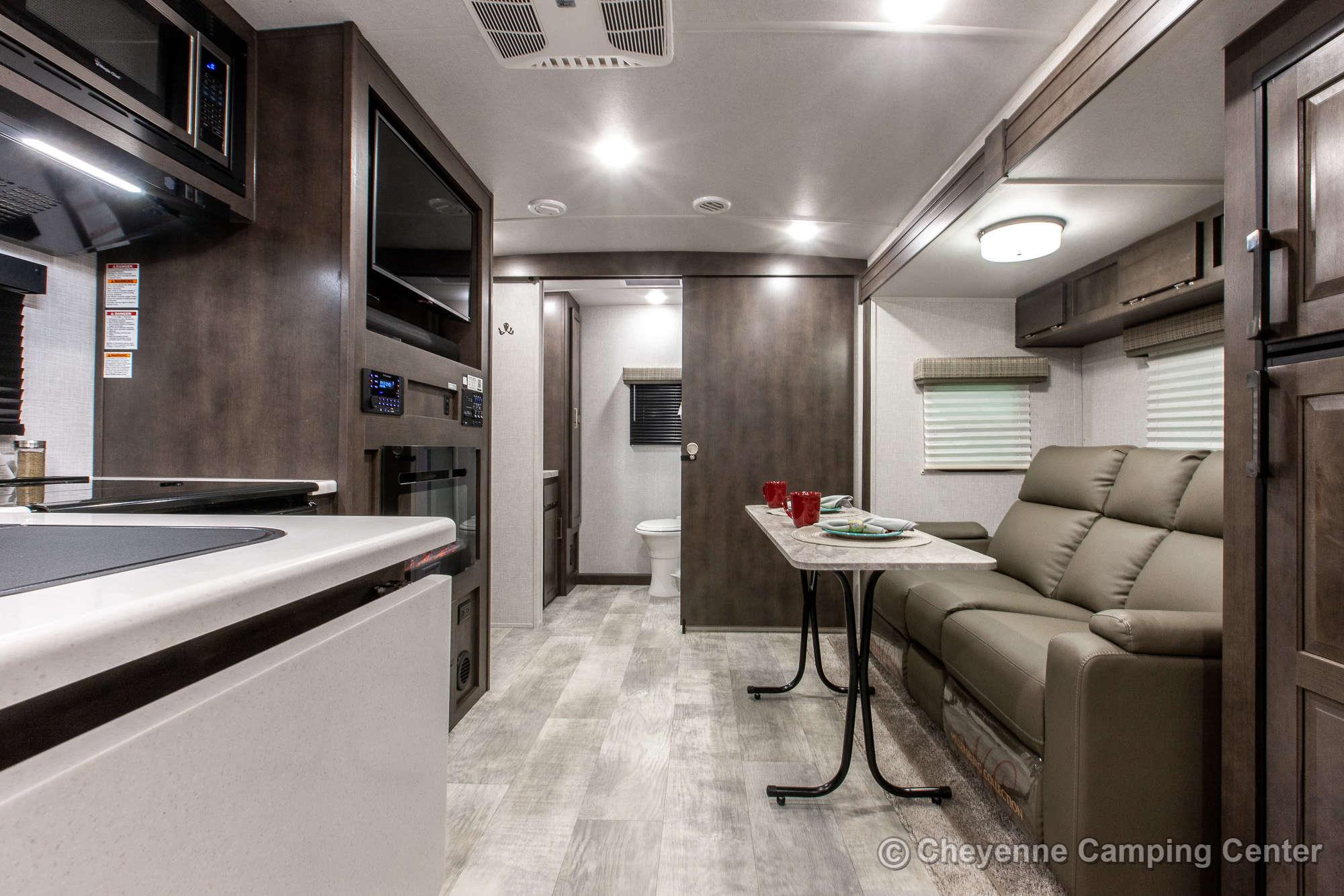 2021 Forest River Flagstaff Micro Lite 25FBLS Travel Trailer Interior Image