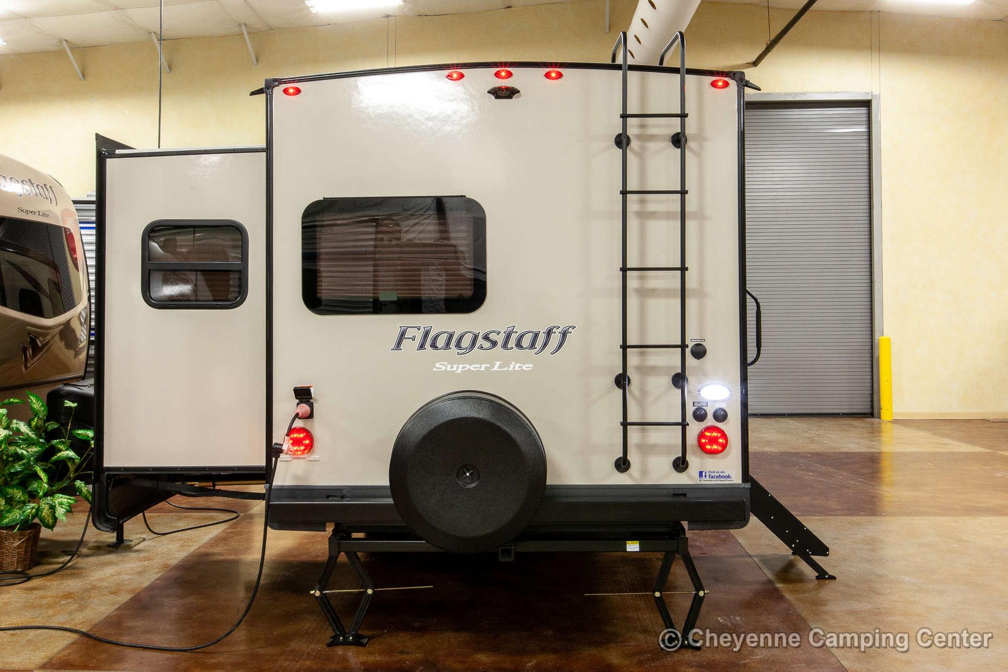 2021 Forest River Flagstaff Super Lite 26FKBS Front Kitchen Travel Trailer Exterior Image