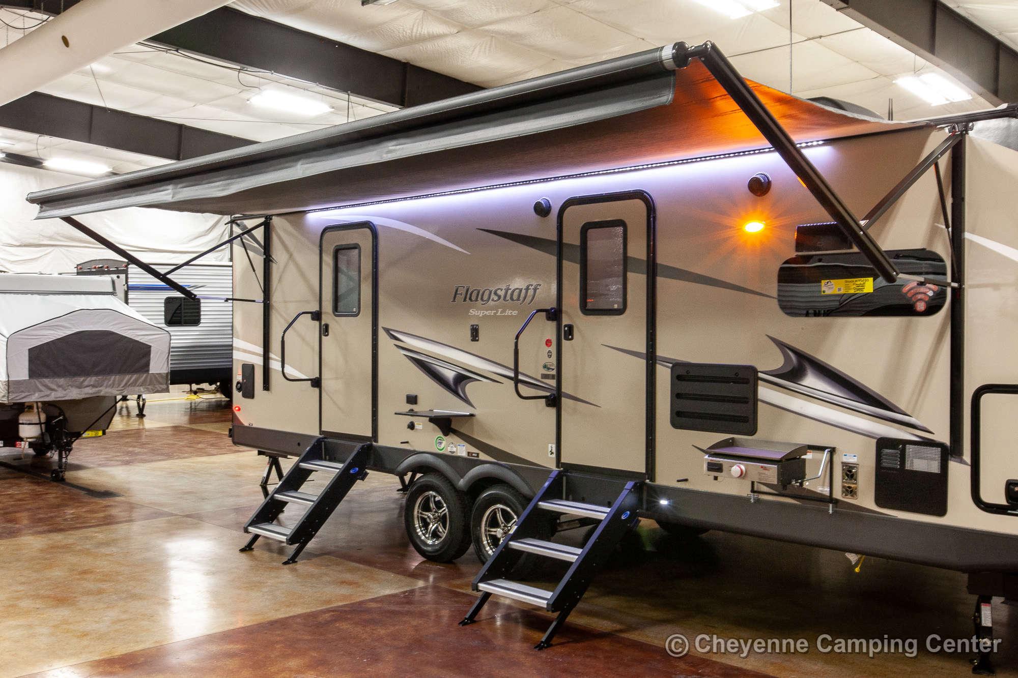 2020 Forest River Flagstaff Super Lite 26FKBS Front Kitchen Travel Trailer Exterior Image