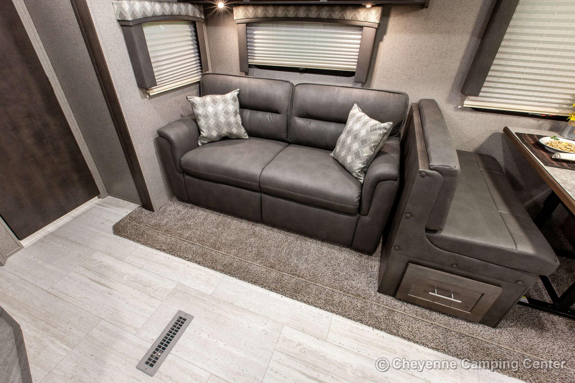 2021 Forest River Flagstaff Super Lite 26FKBS Front Kitchen Travel Trailer Interior Image