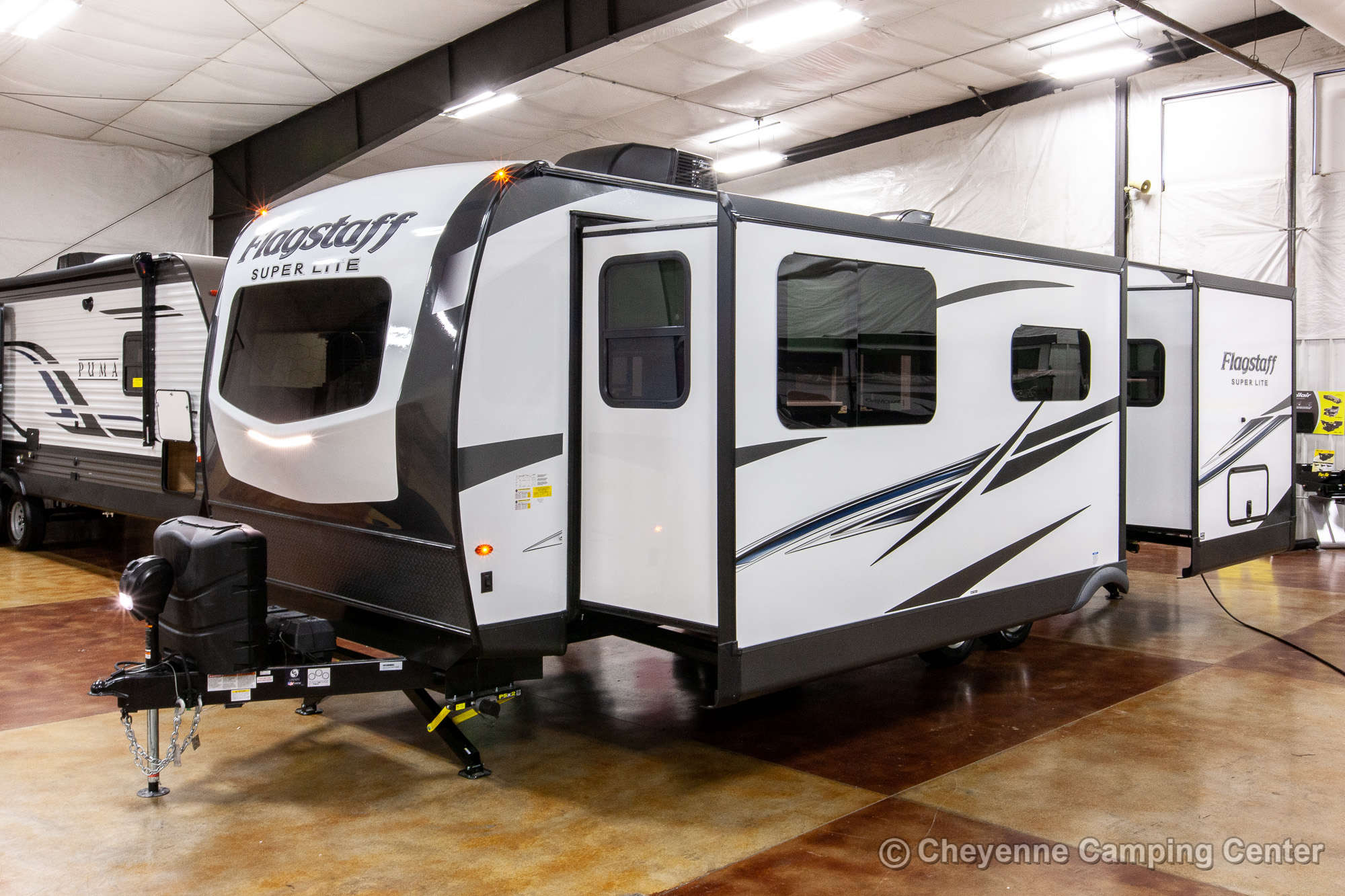 2021 Forest River Flagstaff Super Lite 26FKBS Front Kitchen Travel Trailer Exterior Image