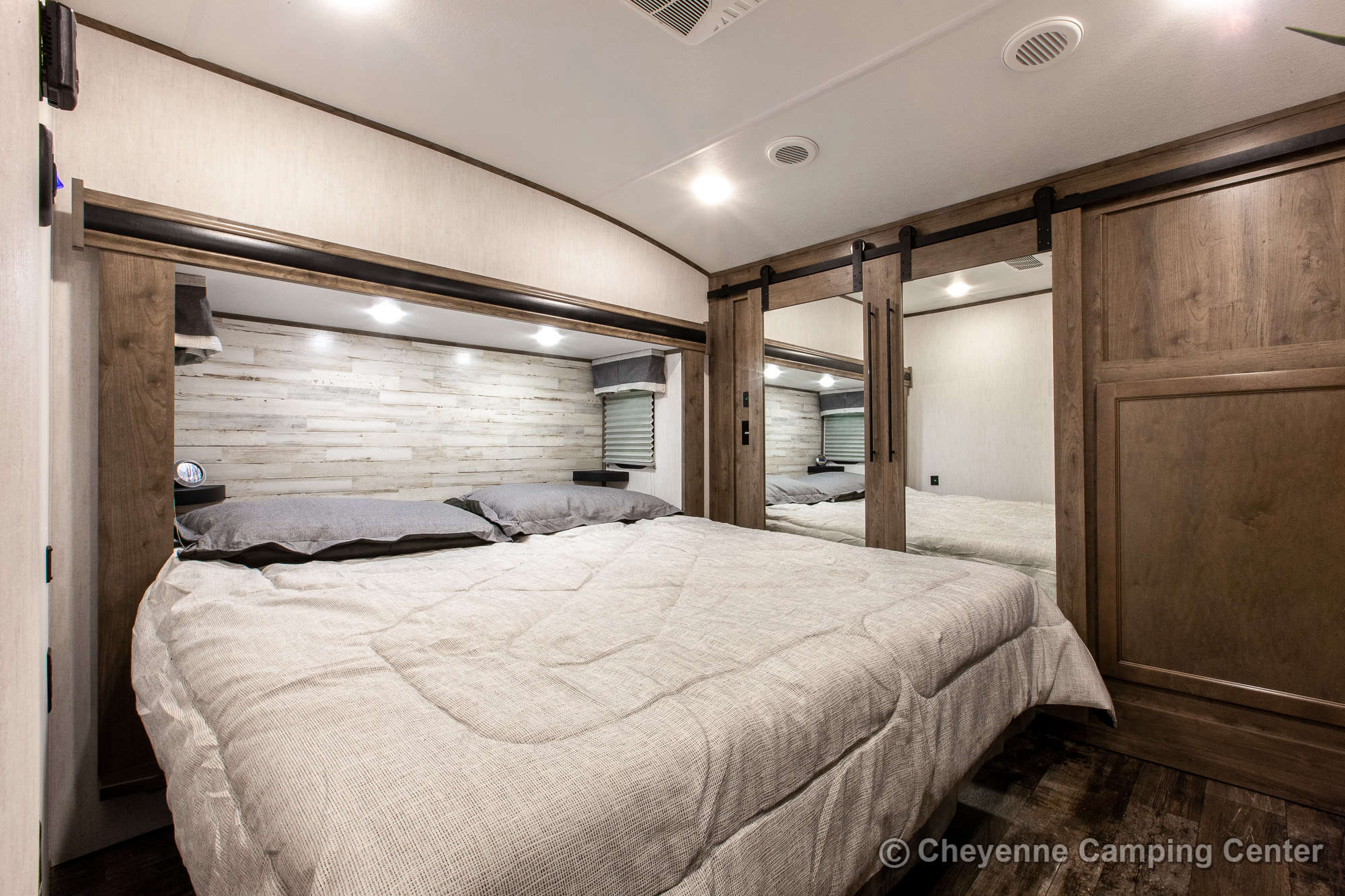 2021 Forest River Sabre Cobalt Edition 36BHQ Bunkhouse Fifth Wheel Interior Image