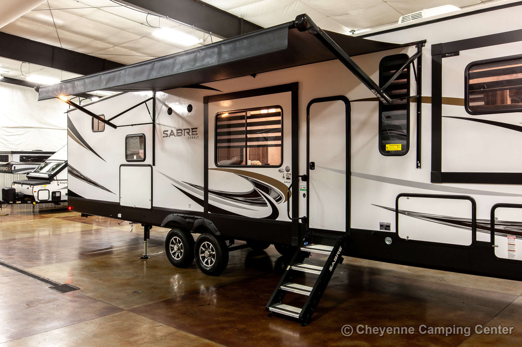 2021 Forest River Sabre Cobalt Edition 37FLH Fifth Wheel Exterior Image