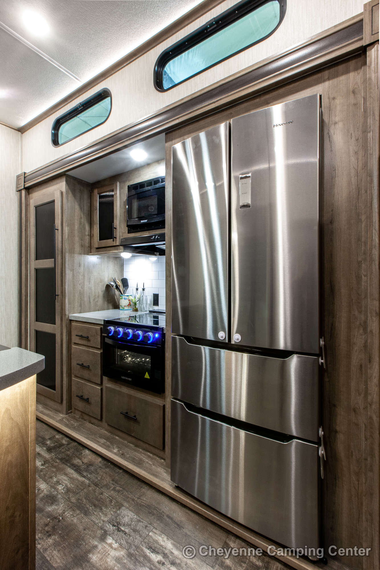 2021 Forest River Sabre Cobalt Edition 37FLH Fifth Wheel Interior Image