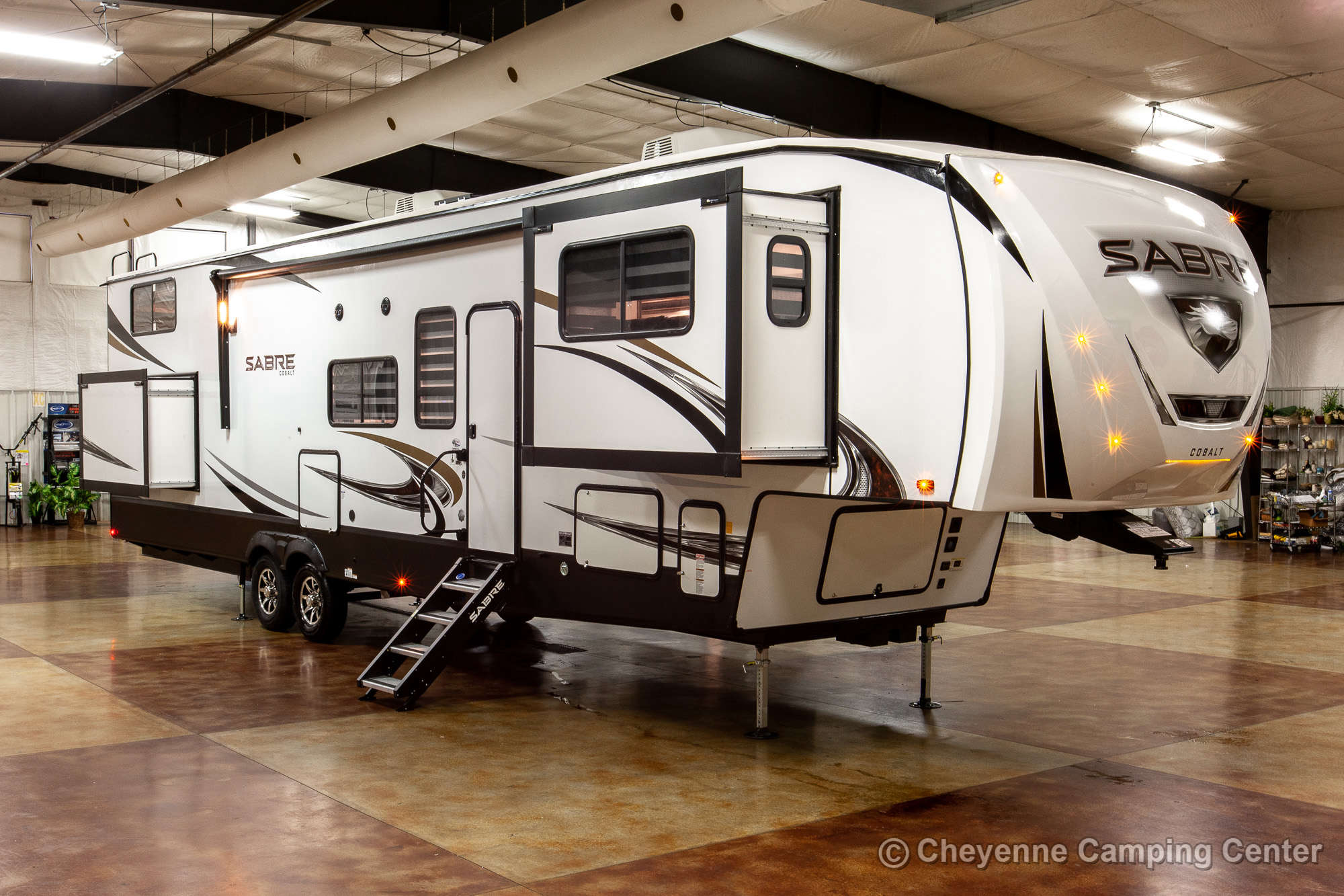 2021 Forest River Sabre Cobalt Edition 37FLL Bunkhouse Fifth Wheel