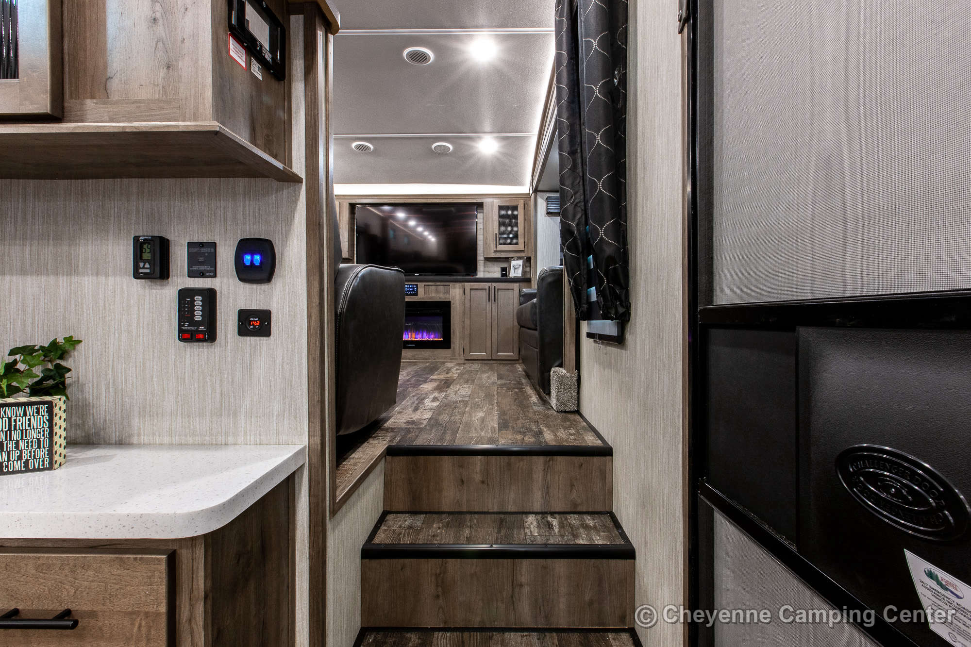 2021 Forest River Sabre Cobalt Edition 37FLL Bunkhouse Fifth Wheel Interior Image