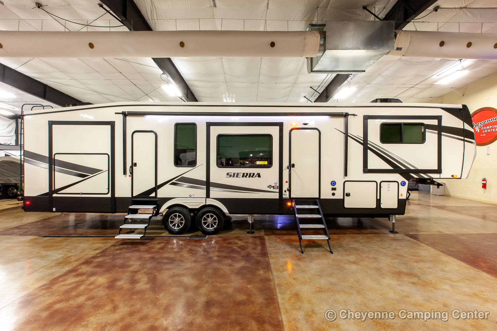 2021 Forest River Sierra 379FLOK Fifth Wheel Exterior Image