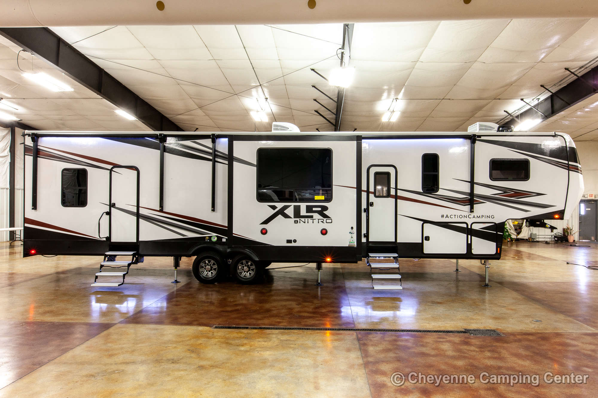 2021 Forest River XLR Nitro 35DK5 Bunkhouse Toy Hauler Fifth Wheel Exterior Image