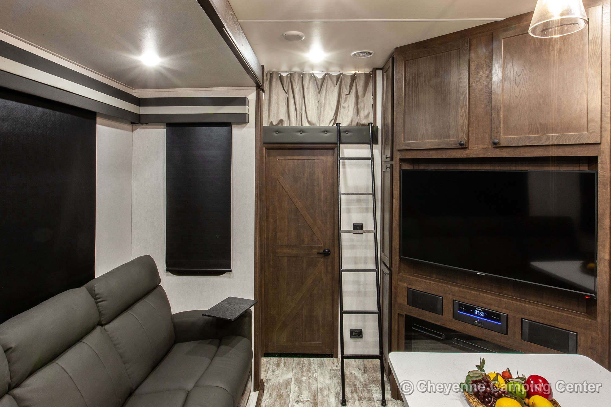 2021 Forest River XLR Nitro 35DK5 Bunkhouse Toy Hauler Fifth Wheel Interior Image