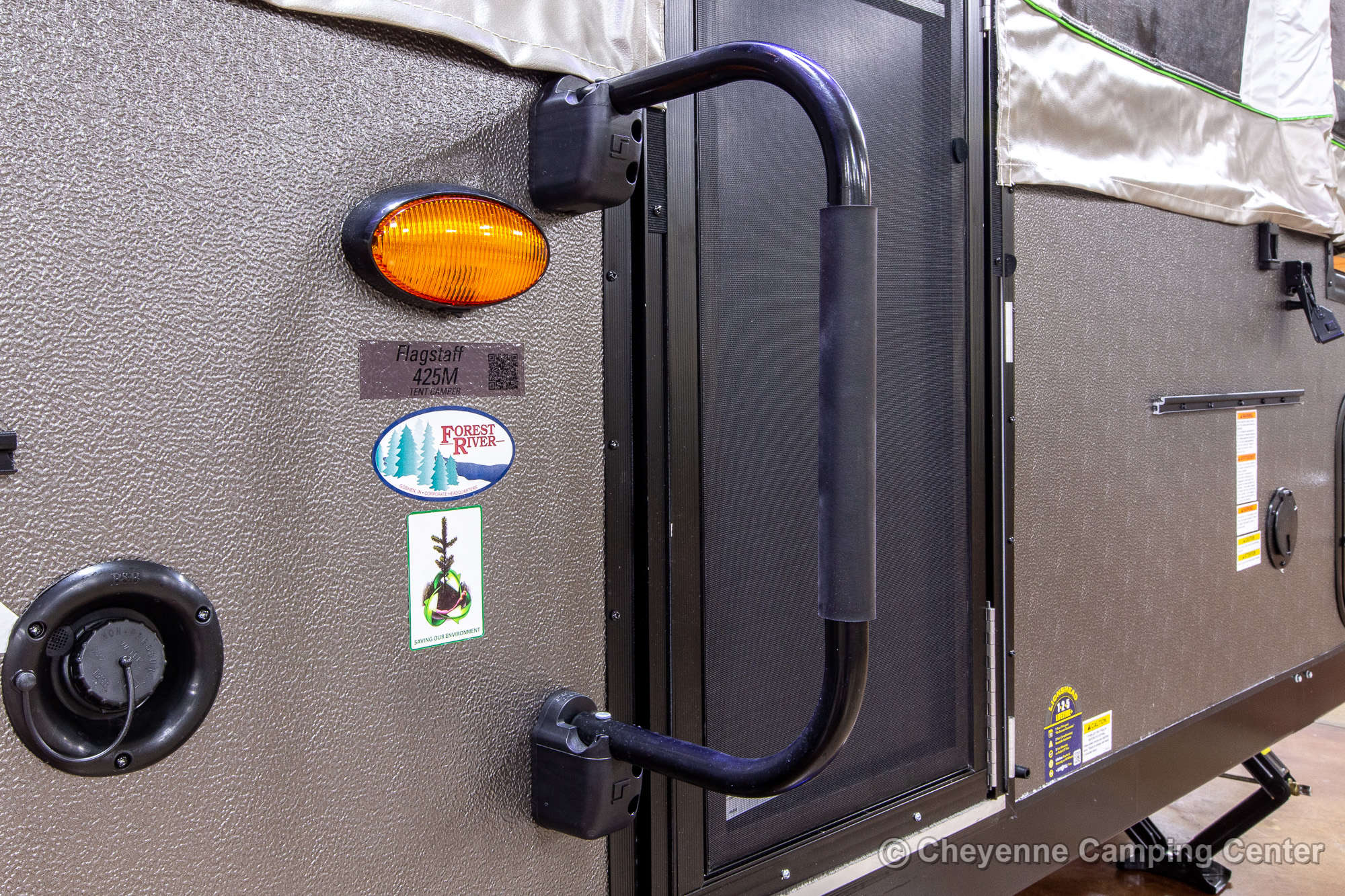 2022 Forest River Flagstaff MAC 425M Folding Camper Exterior Image