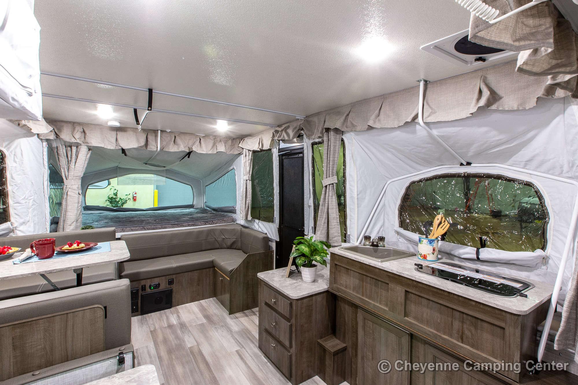 2022 Forest River Flagstaff MAC 425M Folding Camper Interior Image