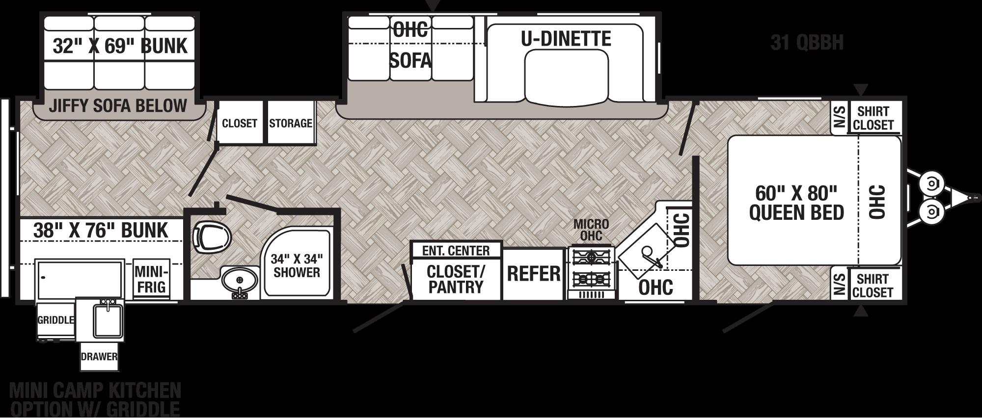 Puma 31qbbh Floorplan