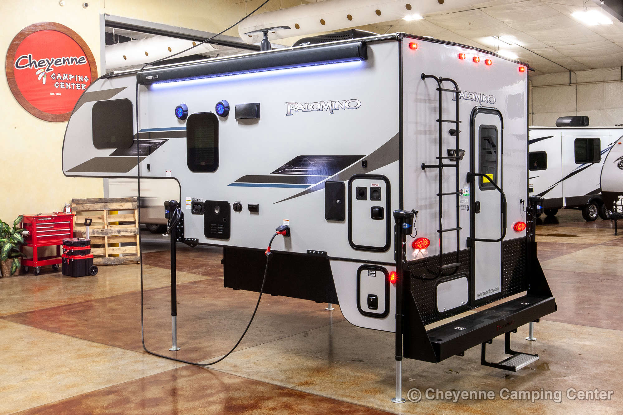 2021 Palomino BackPack HS-2902 Truck Camper Exterior Image