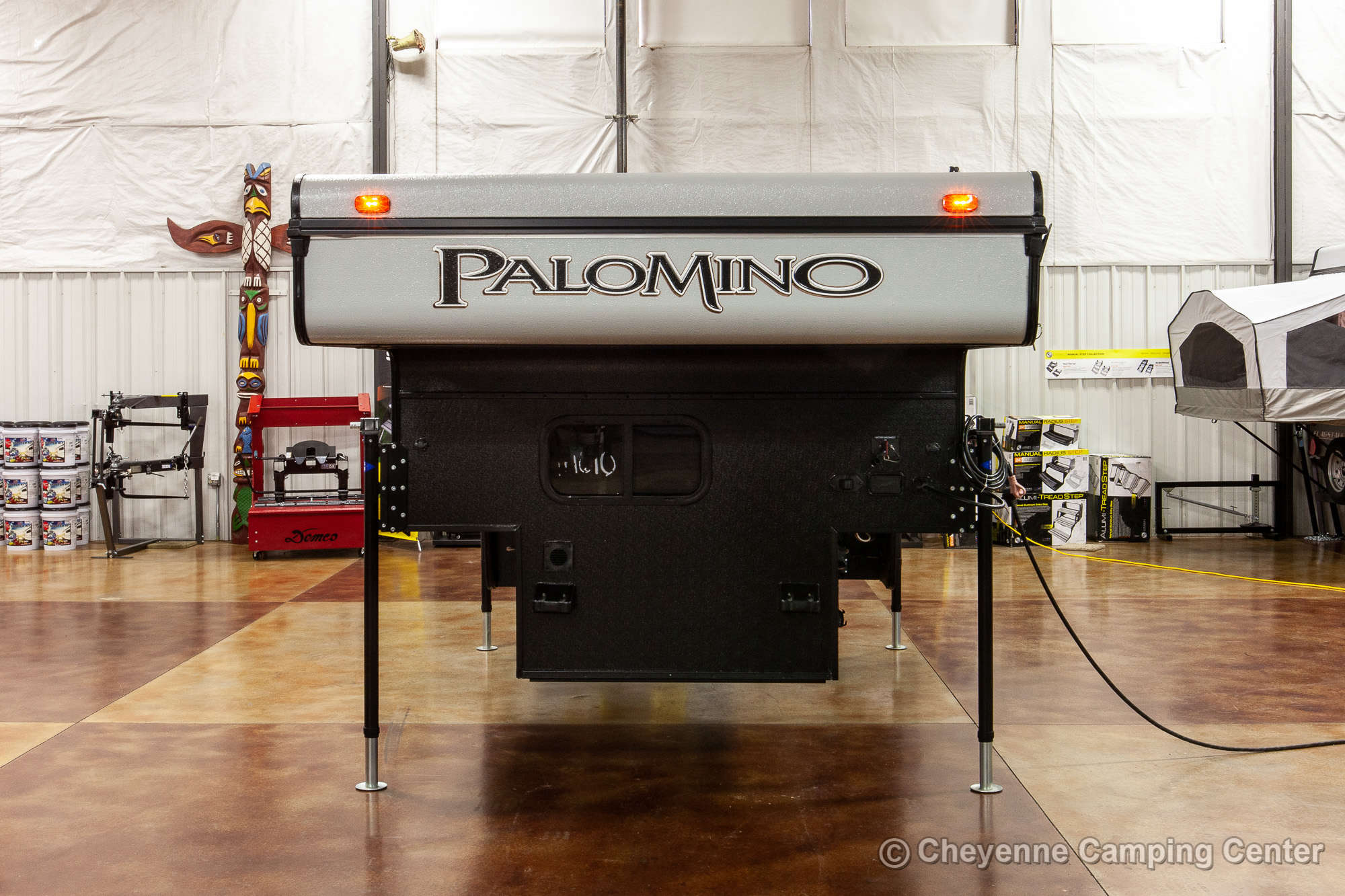2021 Palomino BackPack SS-1500 Truck Camper Exterior Image