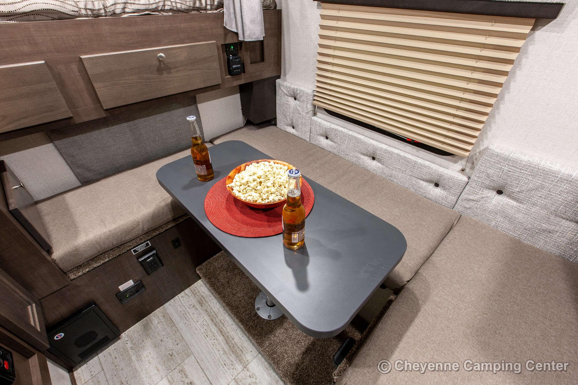 2021 Palomino BackPack SS-1500 Truck Camper Interior Image