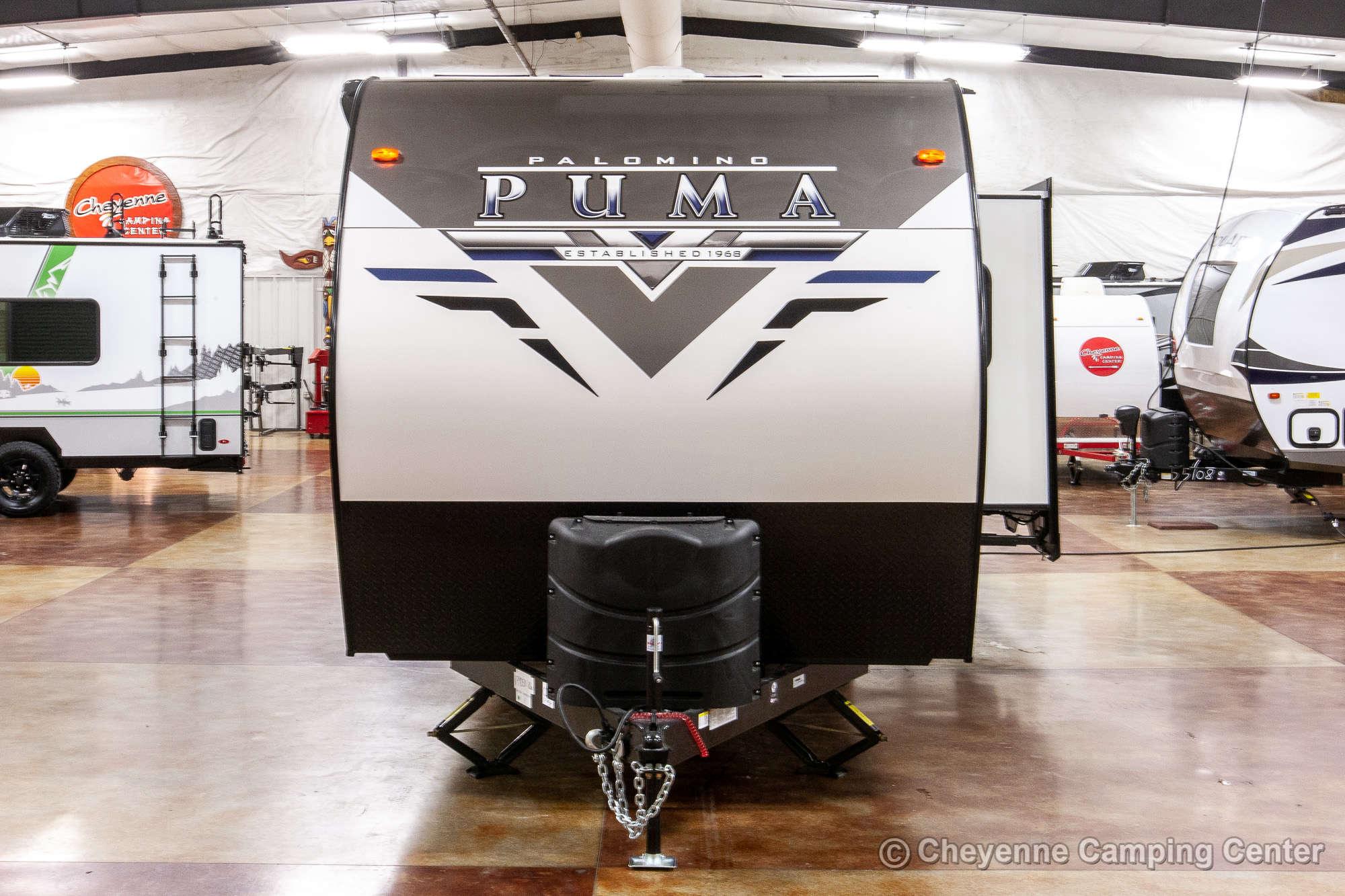 2021 Palomino Puma 25RKQB Travel Trailer Exterior Image