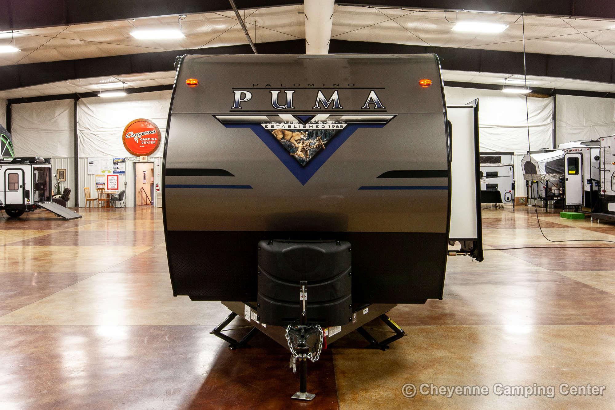 2021 Palomino Puma 26RBSS Travel Trailer Exterior Image