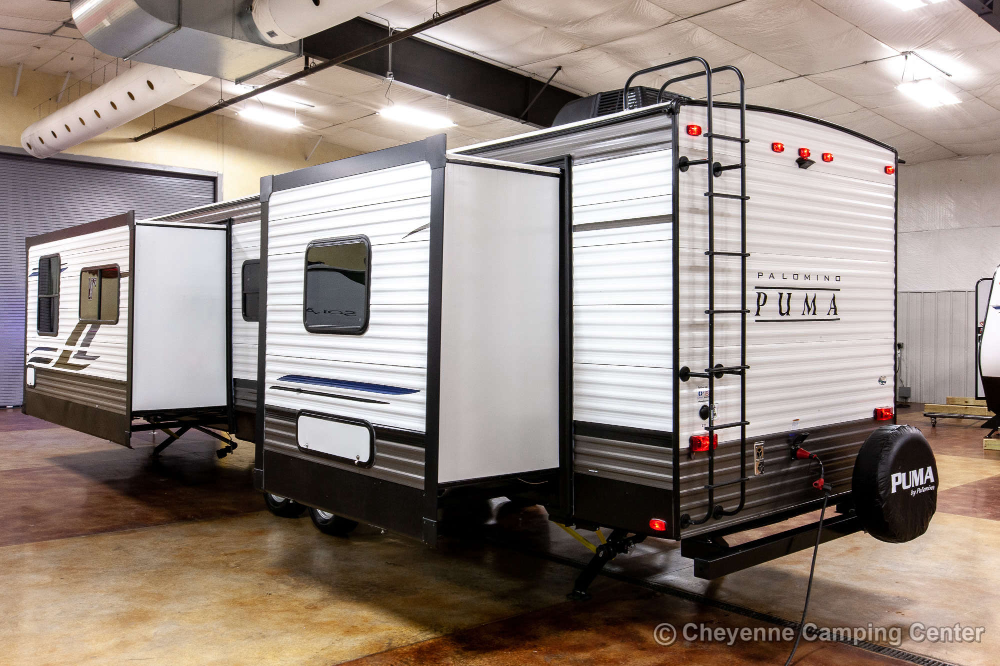 2021 Palomino Puma 31FKRK Front Kitchen Travel Trailer Exterior Image