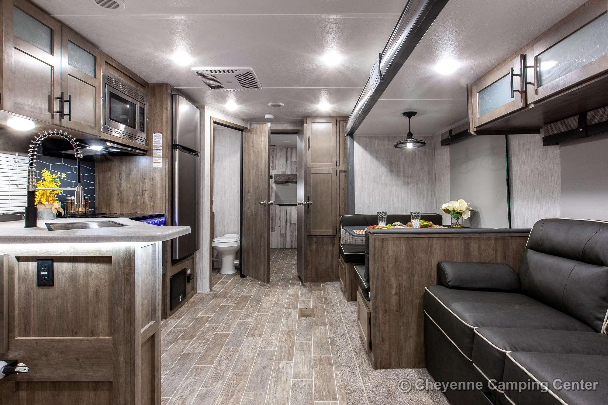 2021 Palomino Puma 32BHQS Bunkhouse Travel Trailer Interior Image