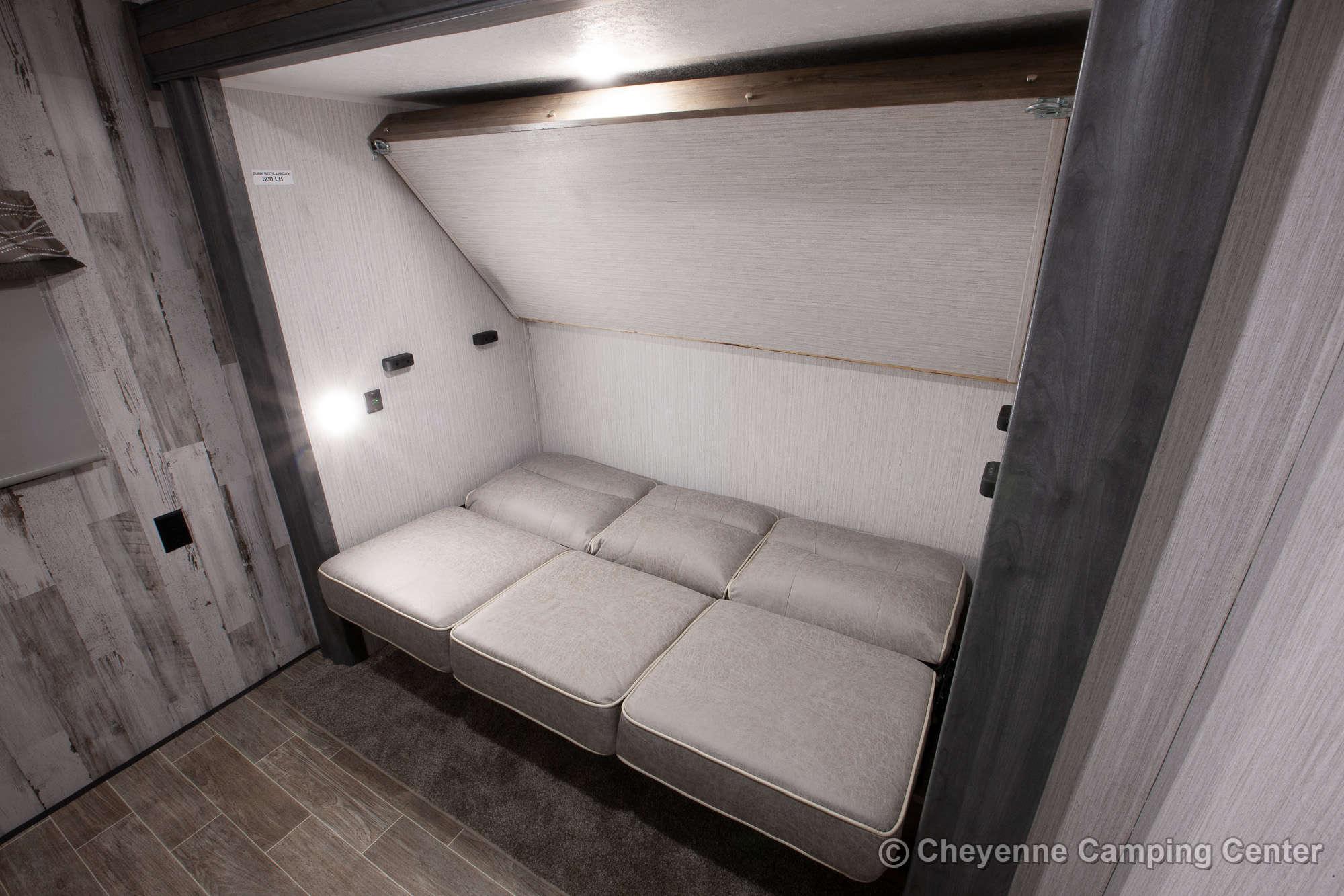 2020 Palomino Puma 32RBFQ Bunkhouse Travel Trailer Interior Image
