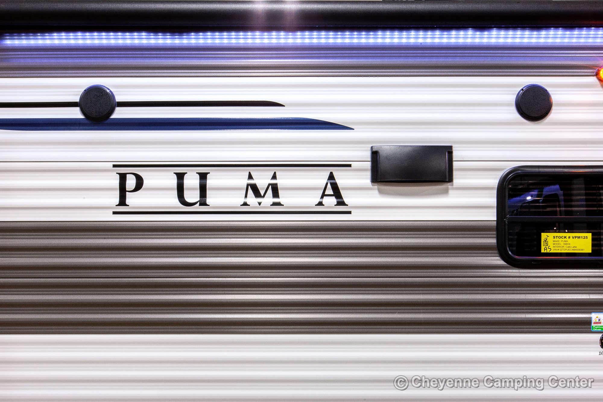 2021 Palomino Puma Ultra Lite 16BHX Bunkhouse Travel Trailer Exterior Image