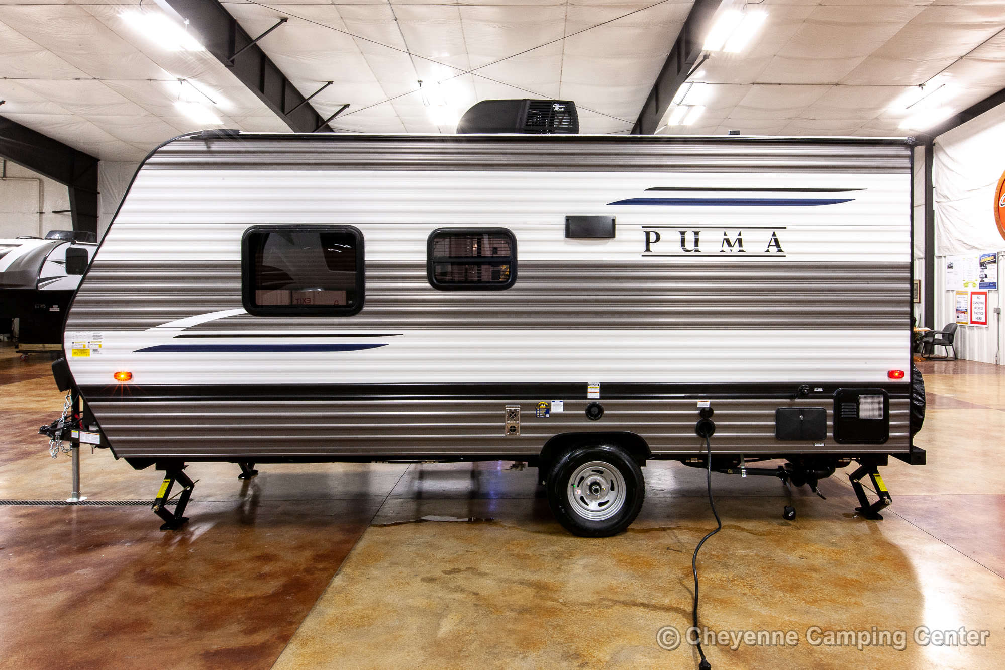 2021 Palomino Puma Ultra Lite 16QBX Travel Trailer Exterior Image