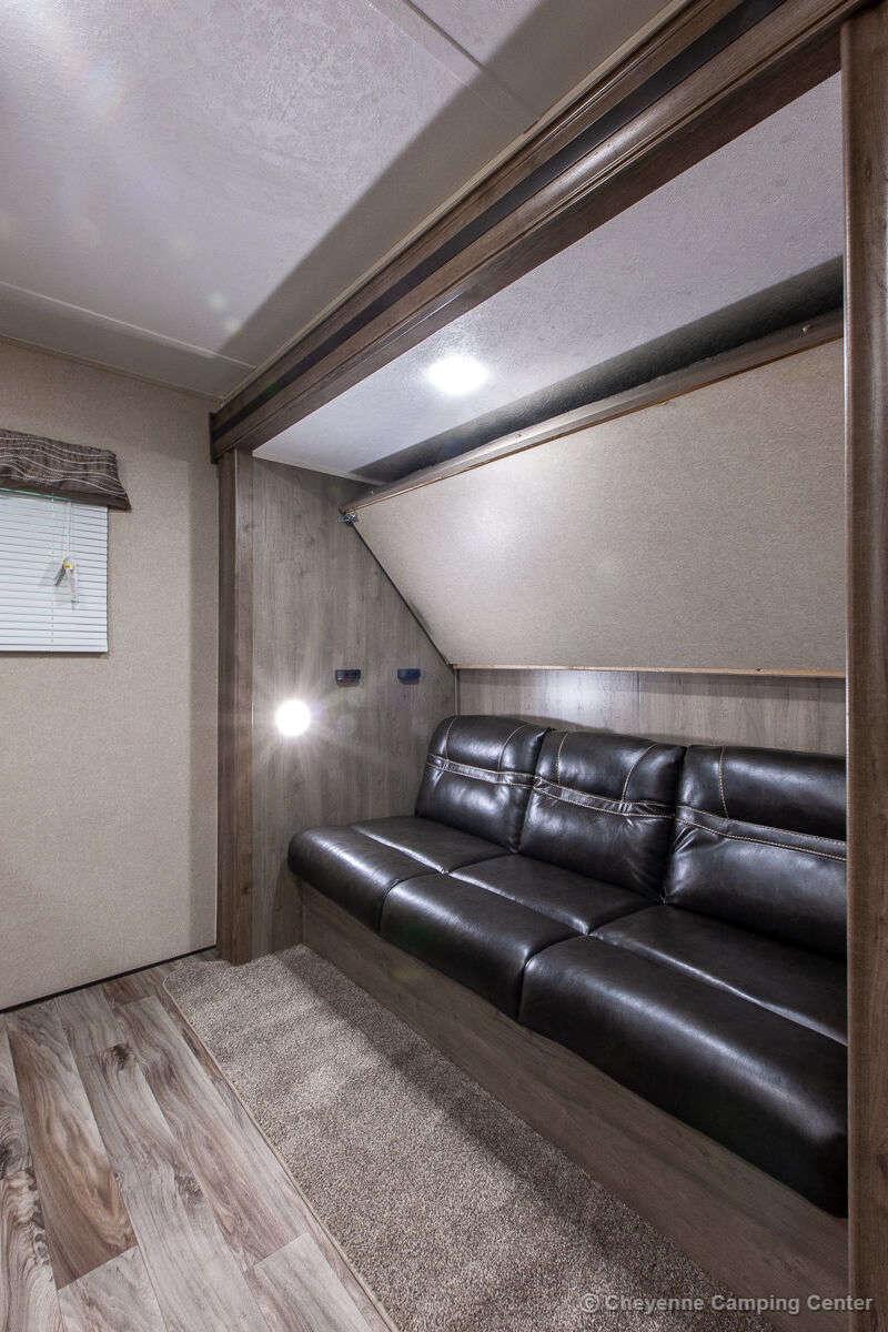 2020 Palomino Puma XLE Lite 31BHSC Bunkhouse Travel Trailer Interior Image