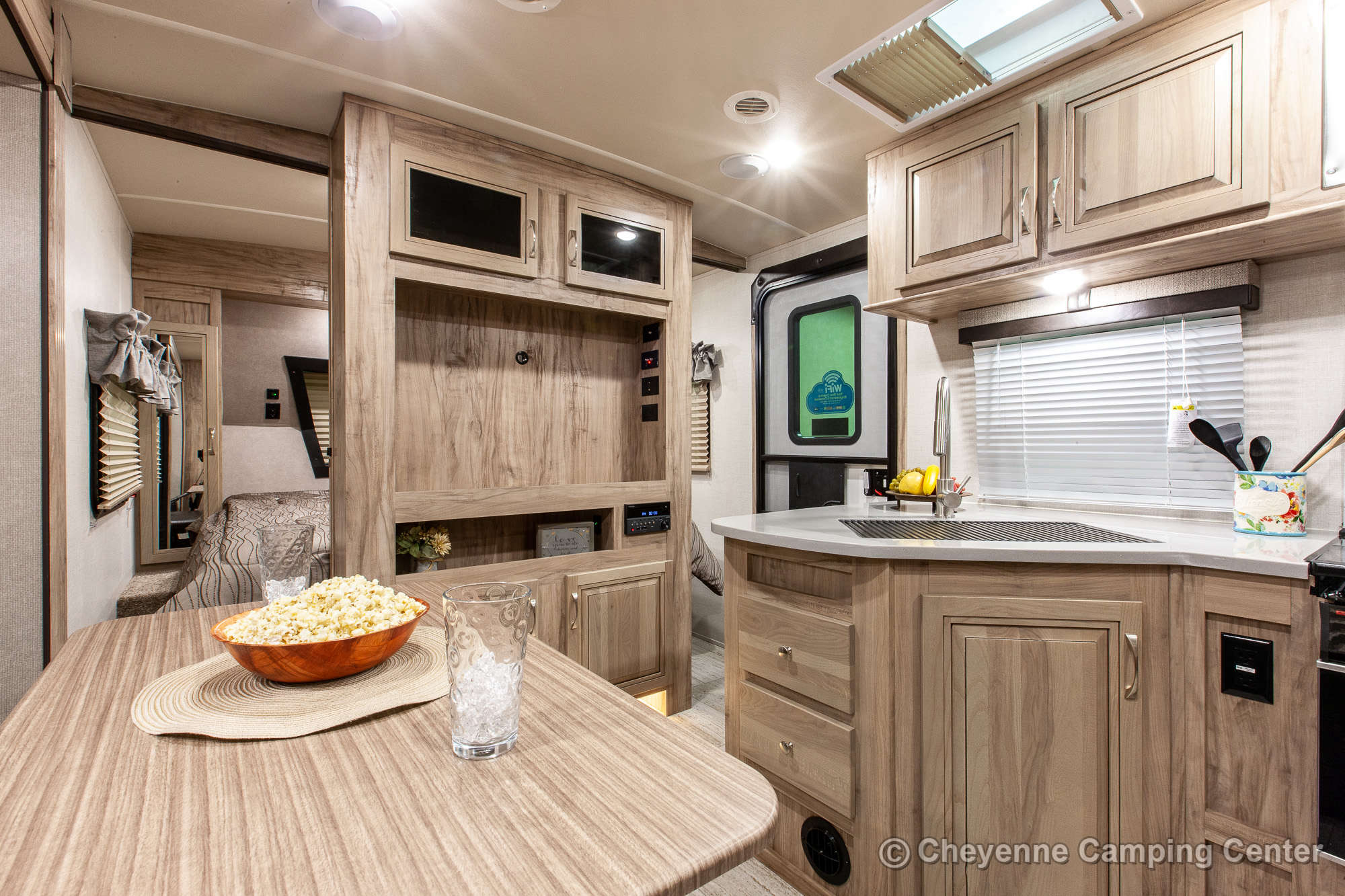 2021 Palomino SolAire Ultra Lite 240BHS Bunkhouse Travel Trailer Interior Image