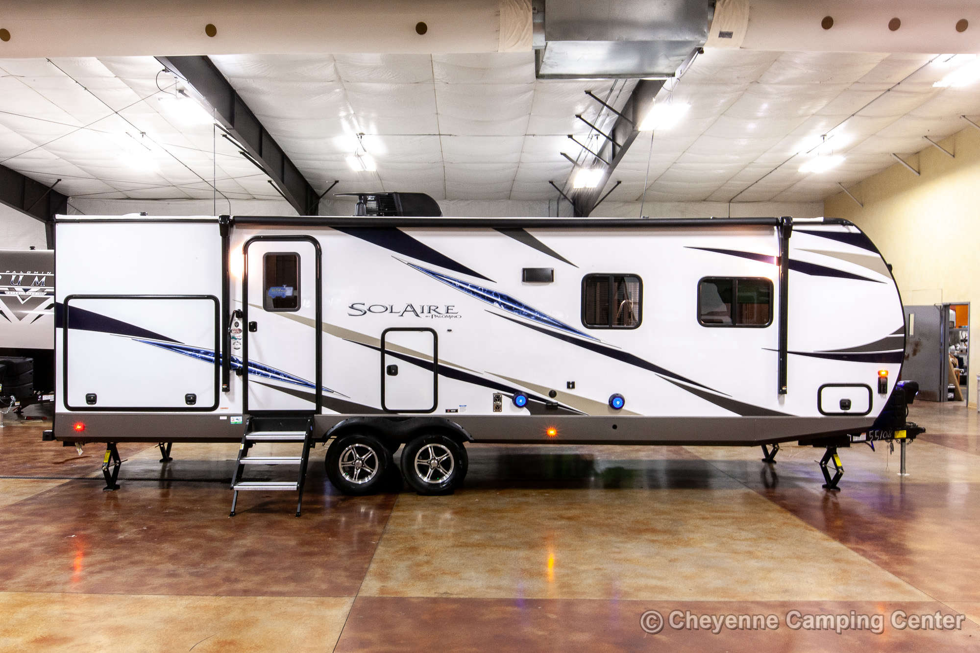 2021 Palomino SolAire Ultra Lite 258RBSS Travel Trailer Exterior Image