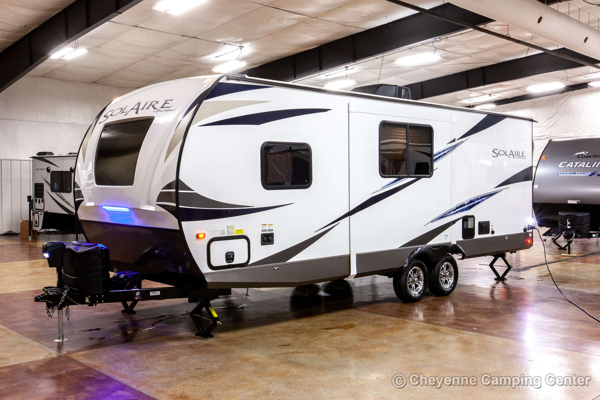 2021 Palomino SolAire Ultra Lite 240BHS Bunkhouse Travel Trailer Exterior Image