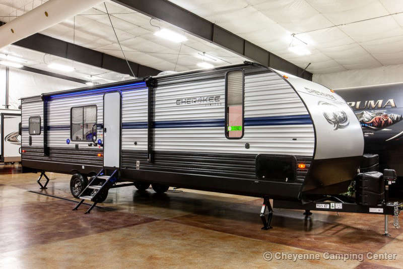 2021 Forest River Cherokee 294RR Toy Hauler Travel Trailer