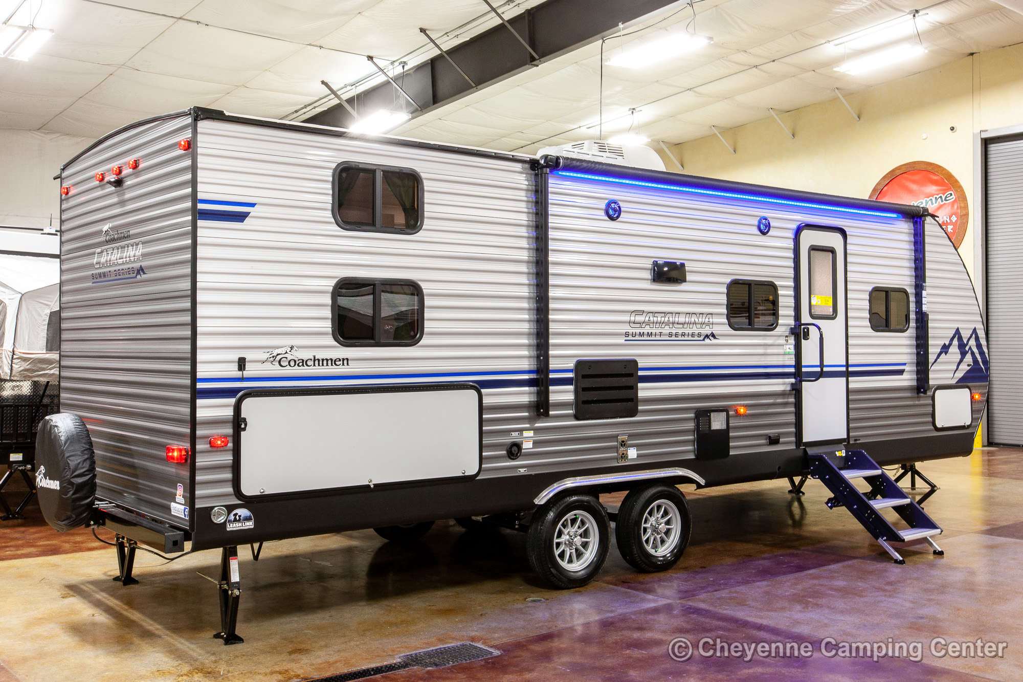 2021 Coachmen Catalina Summit Series 261BHS Bunkhouse Travel Trailer Exterior Image