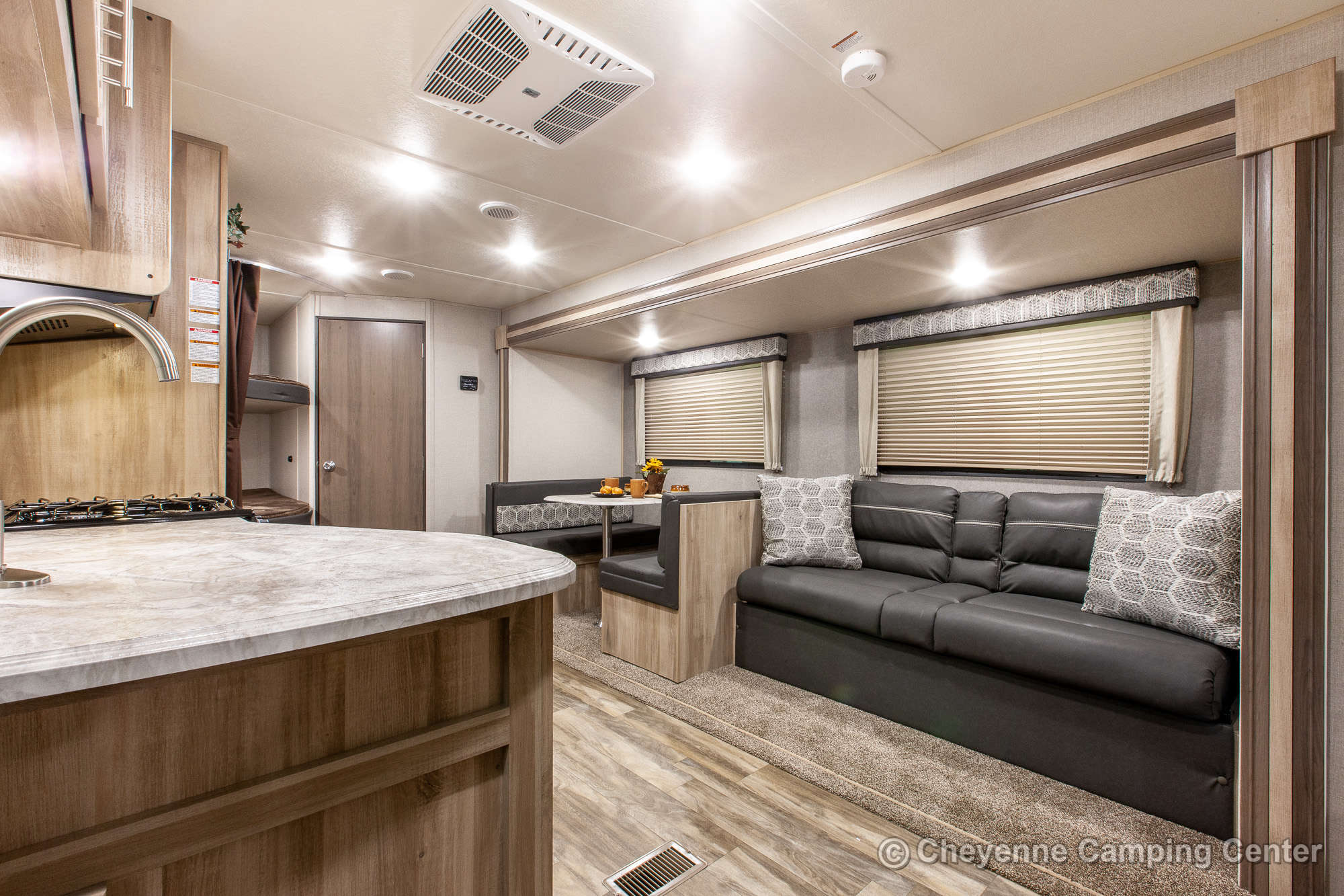 2021 Coachmen Catalina Summit Series 261BHS Bunkhouse Travel Trailer Interior Image