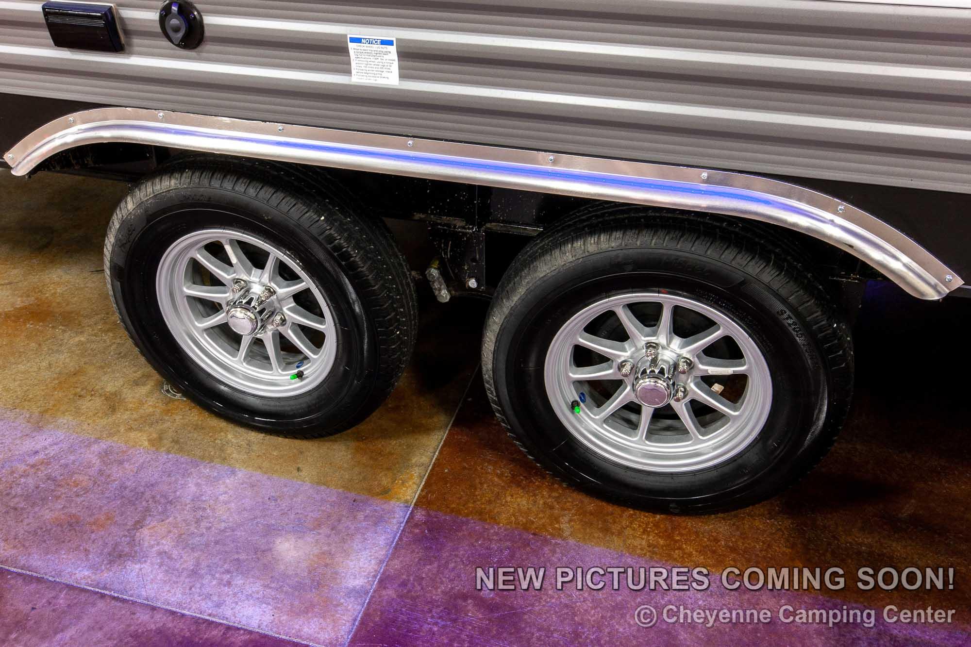 2021 Coachmen Catalina Trail Blazer 26TH Toy Hauler Travel Trailer Exterior Image