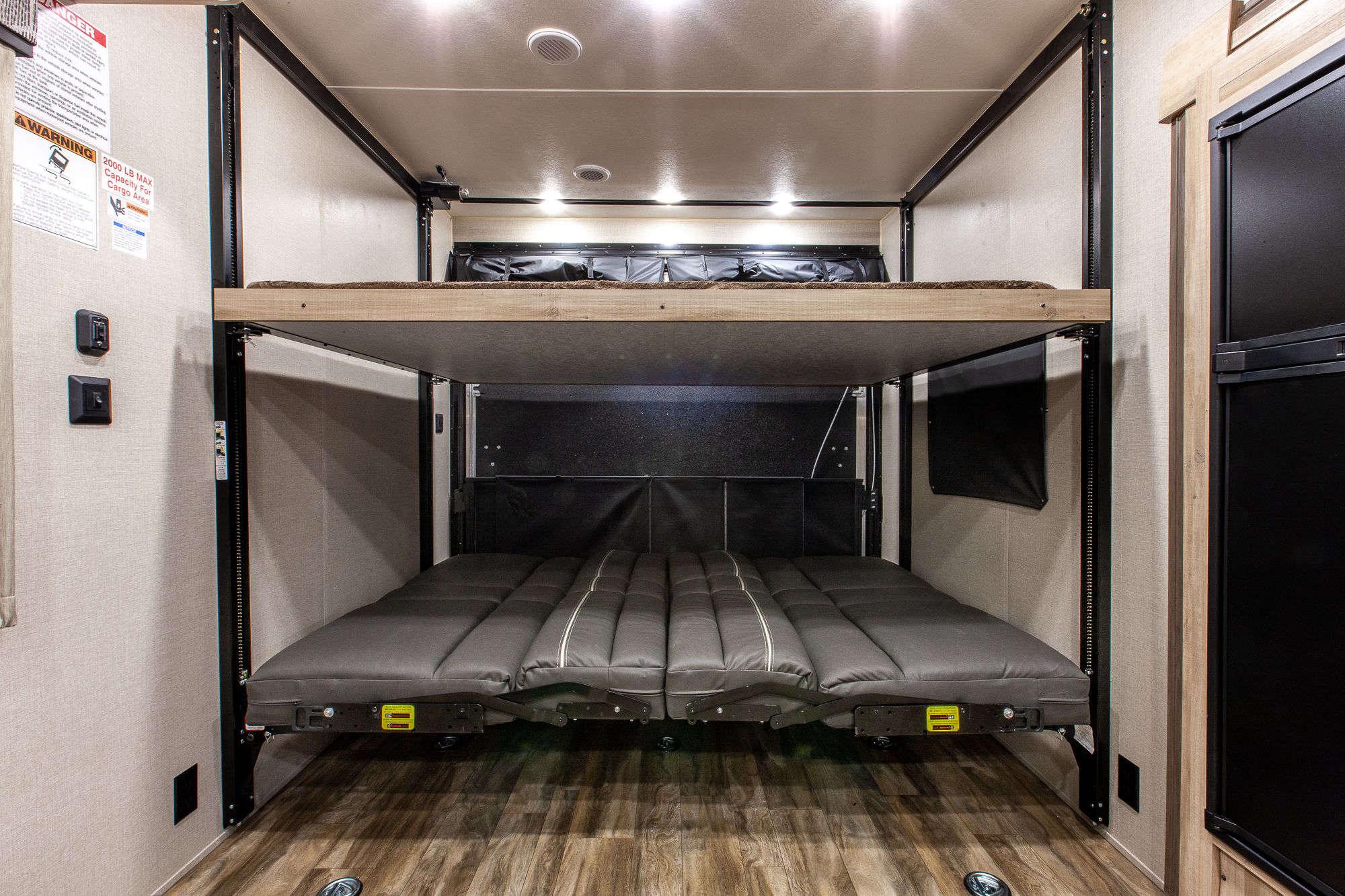 2021 Coachmen Catalina Trail Blazer 28THS Bunkhouse Toy Hauler Travel Trailer Interior Image
