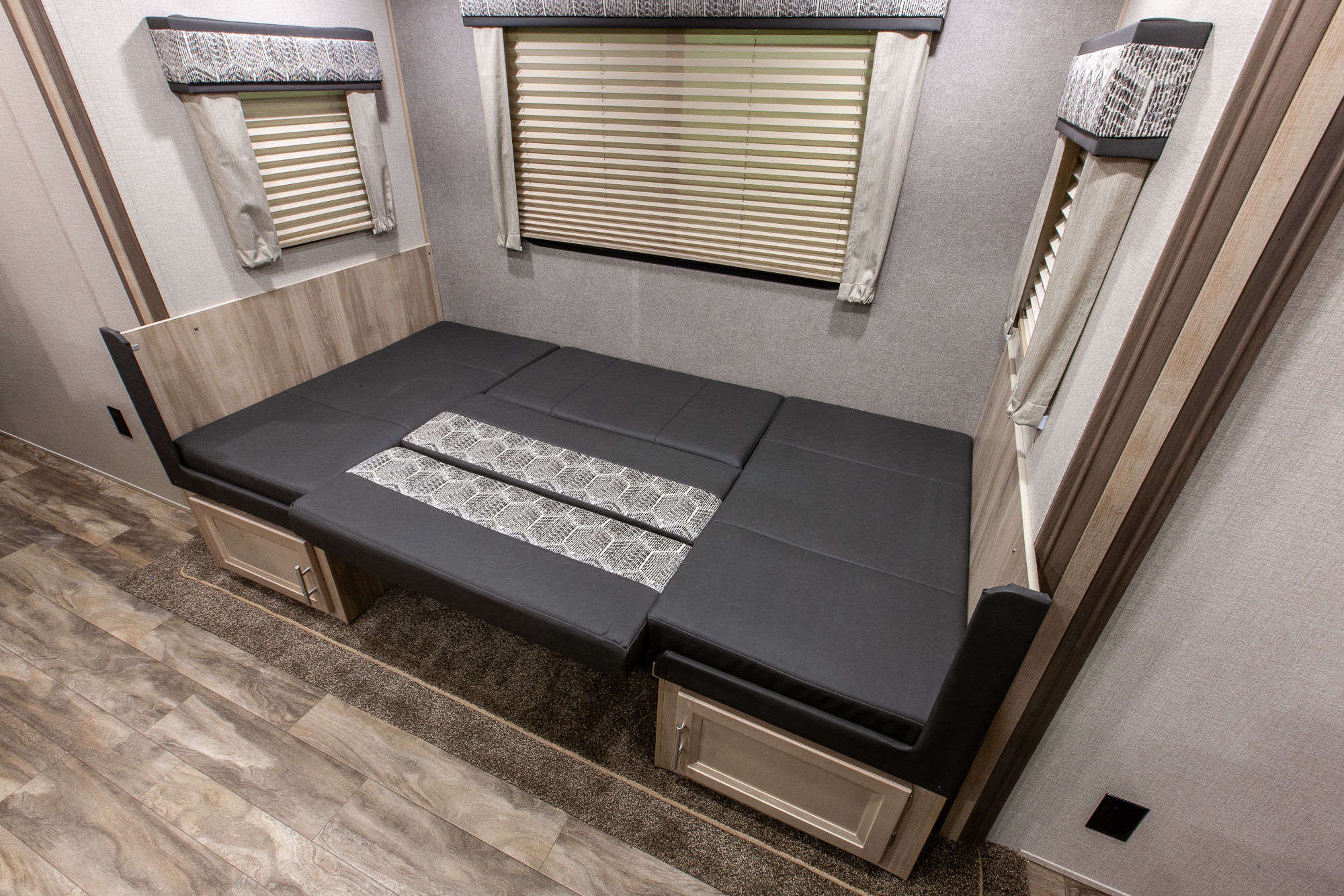 2021 Coachmen Catalina Trail Blazer 29THS Toy Hauler Travel Trailer Interior Image