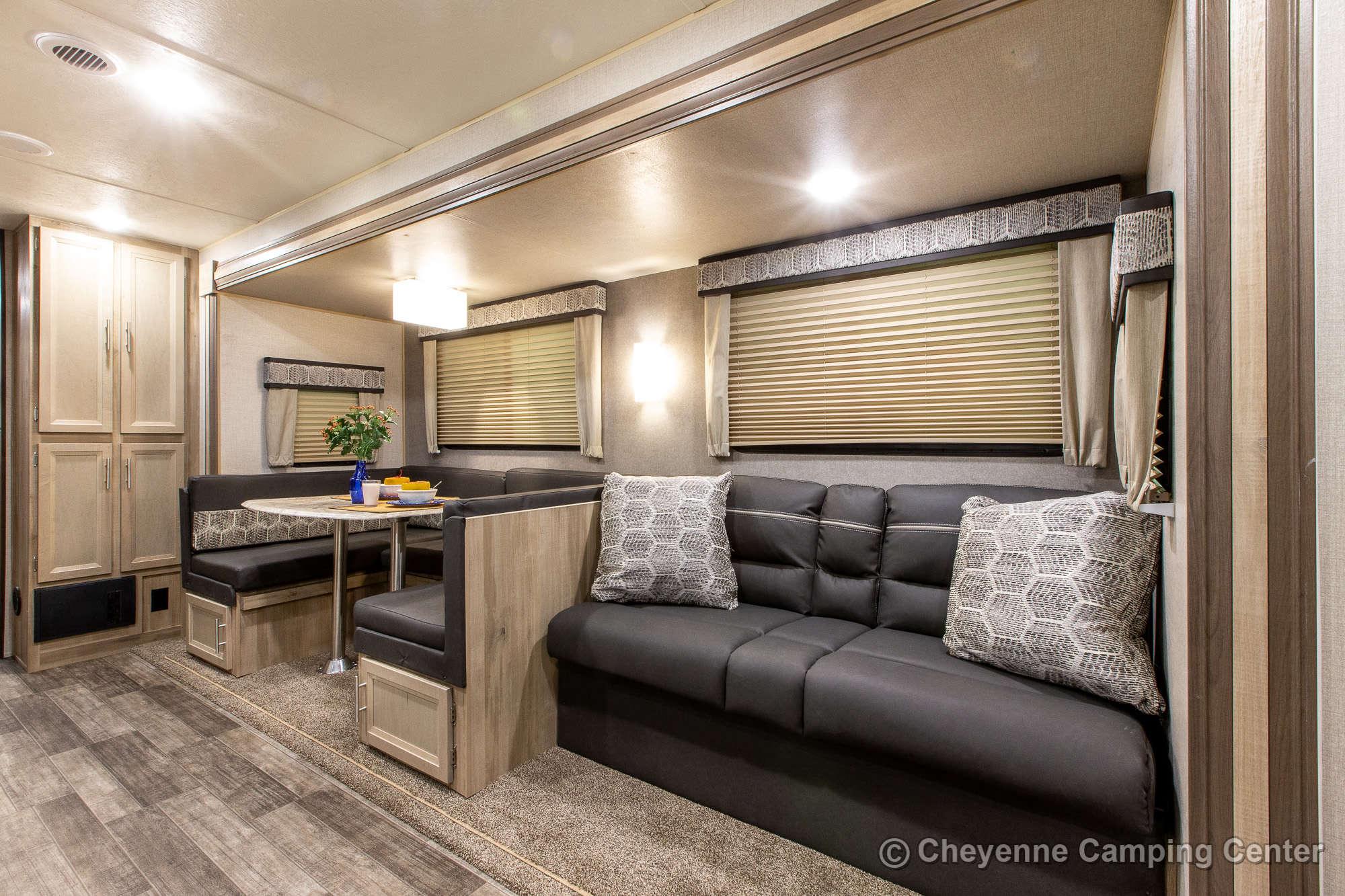 2022 Coachmen Catalina Legacy Edition 323BHDSCK Bunkhouse Travel Trailer Interior Image
