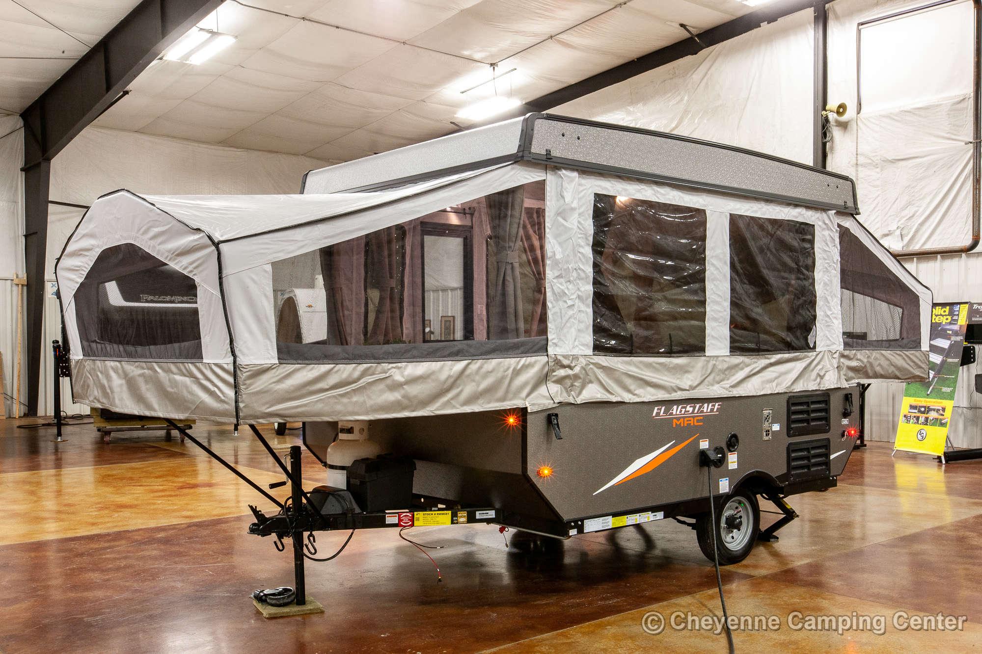 2021 Forest River Flagstaff LTD 206LTD Folding Camper Exterior Image