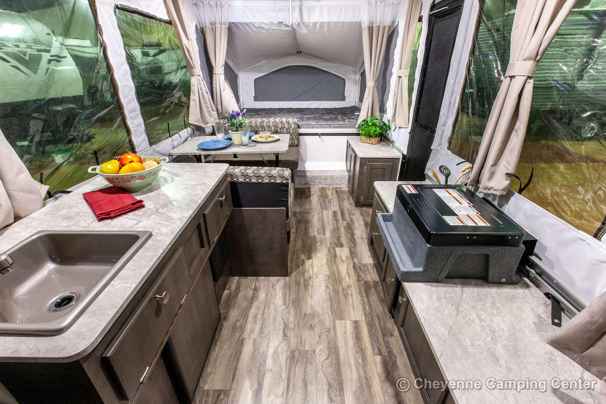 2021 Forest River Flagstaff LTD 206LTD Folding Camper Interior Image