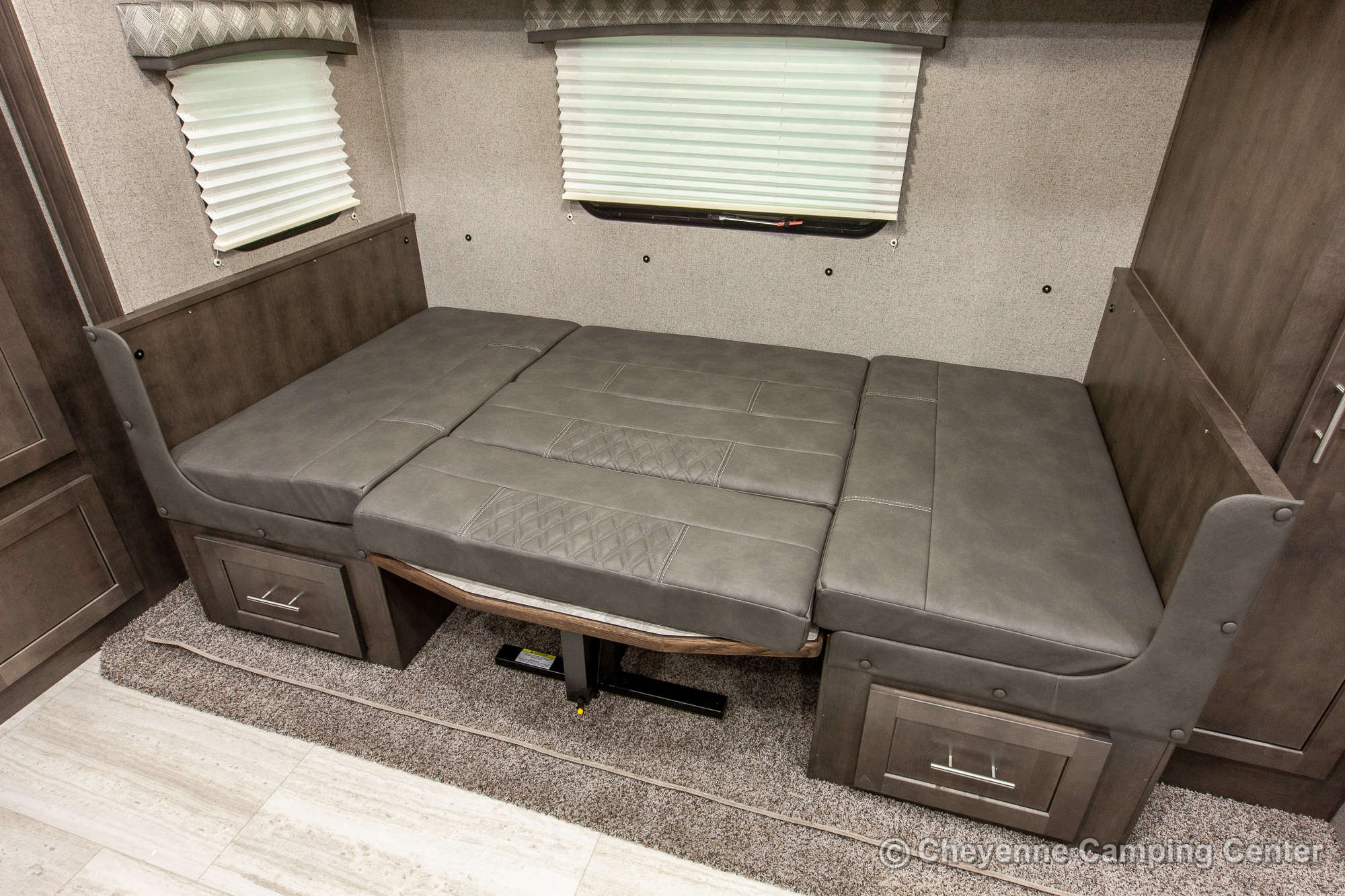 2021 Forest River Flagstaff Micro Lite 25BRDS Bunkhouse Travel Trailer Interior Image