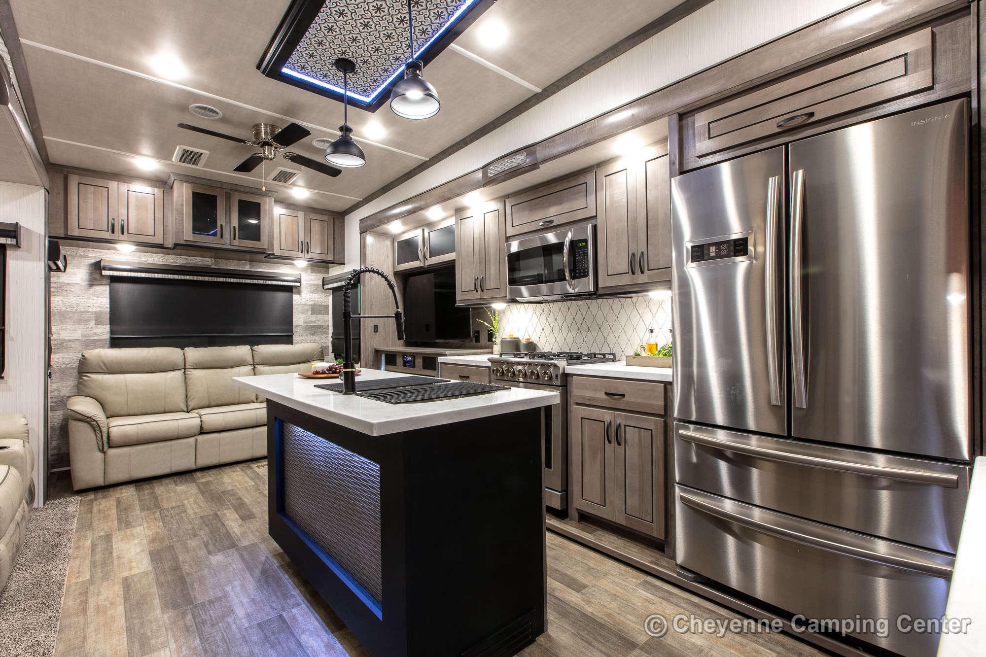 2021 Forest River Cedar Creek 311RL Fifth Wheel Interior Image