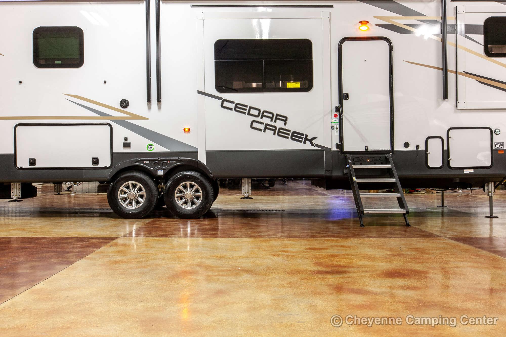 2021 Forest River Cedar Creek 371FL Fifth Wheel Exterior Image