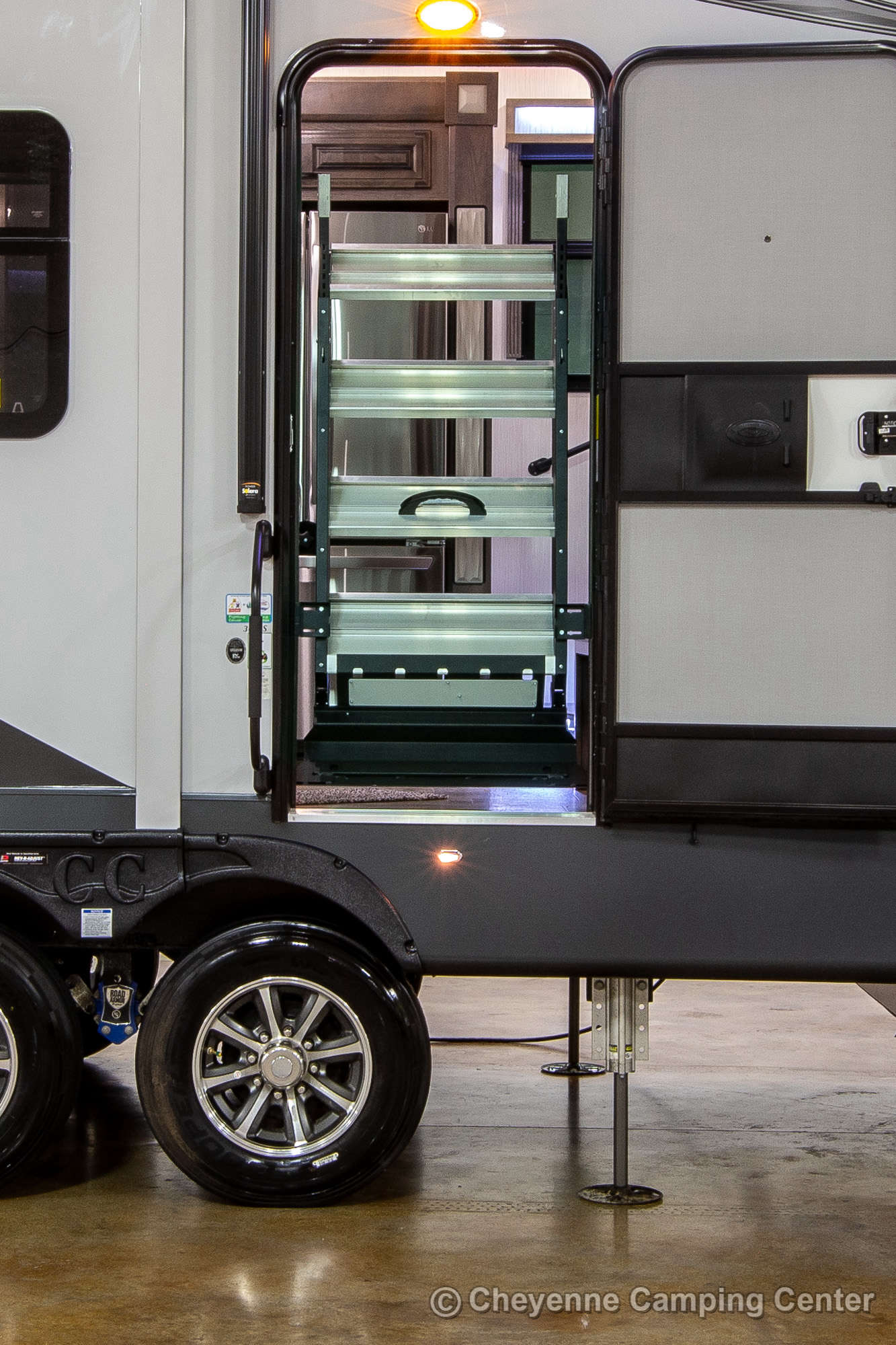 2022 Forest River Cedar Creek Champagne Edition 38EBS Fifth Wheel Exterior Image