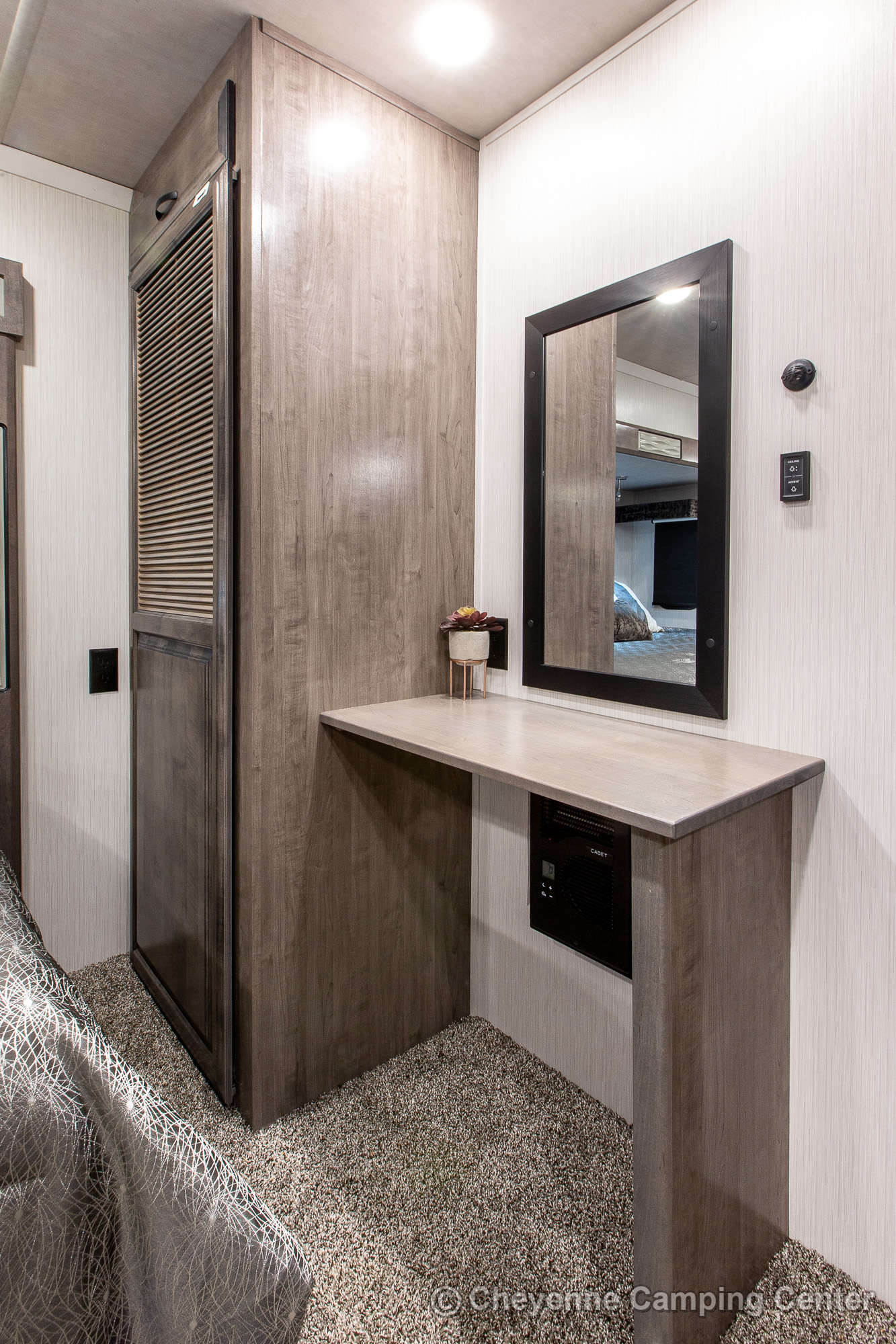 2022 Forest River Cedar Creek Champagne Edition 38EBS Fifth Wheel Interior Image