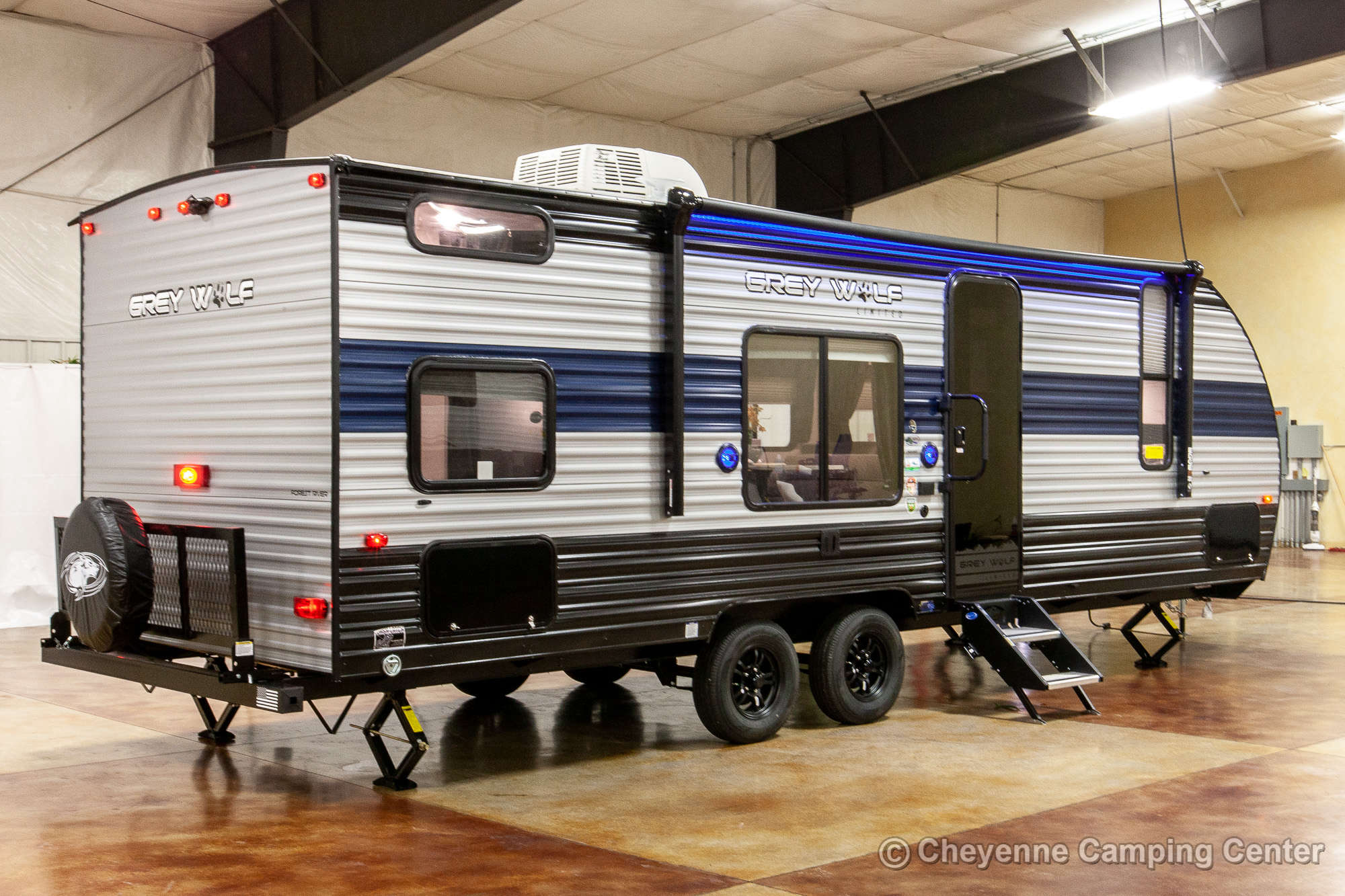 2021 Forest River Cherokee Grey Wolf 26DJSE Bunkhouse Travel Trailer Exterior Image