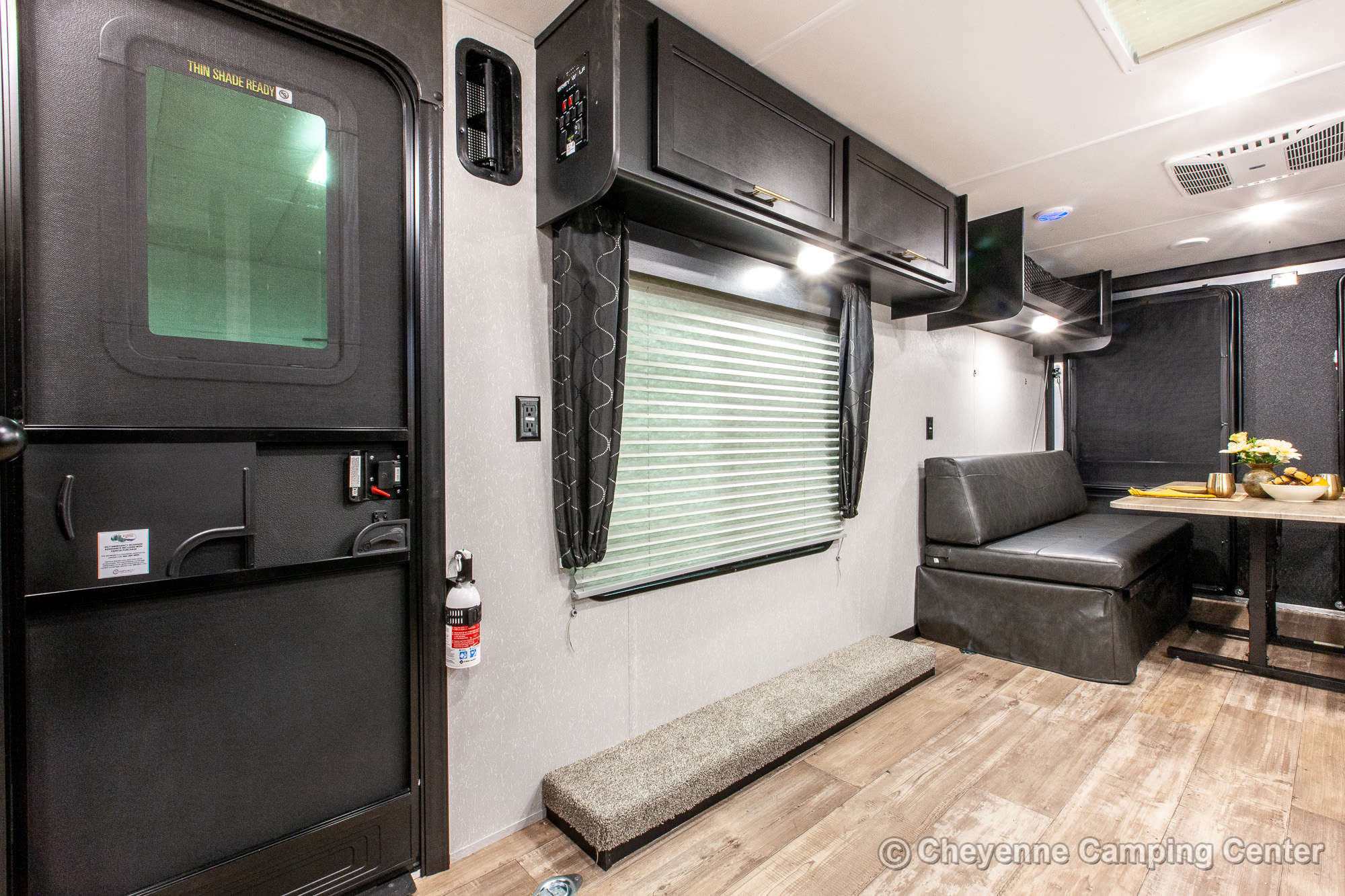 2021 Forest River Cherokee Grey Wolf 26RR Toy Hauler Travel Trailer Interior Image