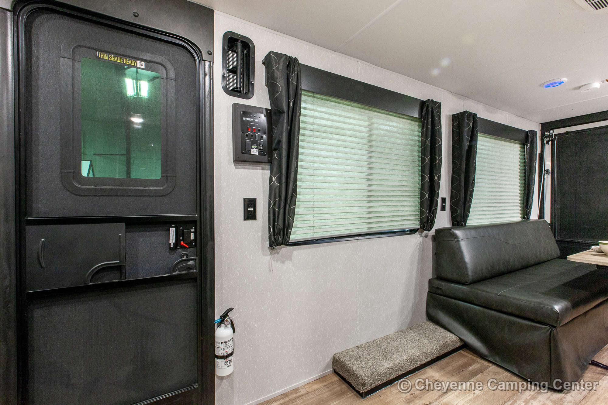 2021 Forest River Cherokee Grey Wolf 18RR Toy Hauler Travel Trailer Interior Image