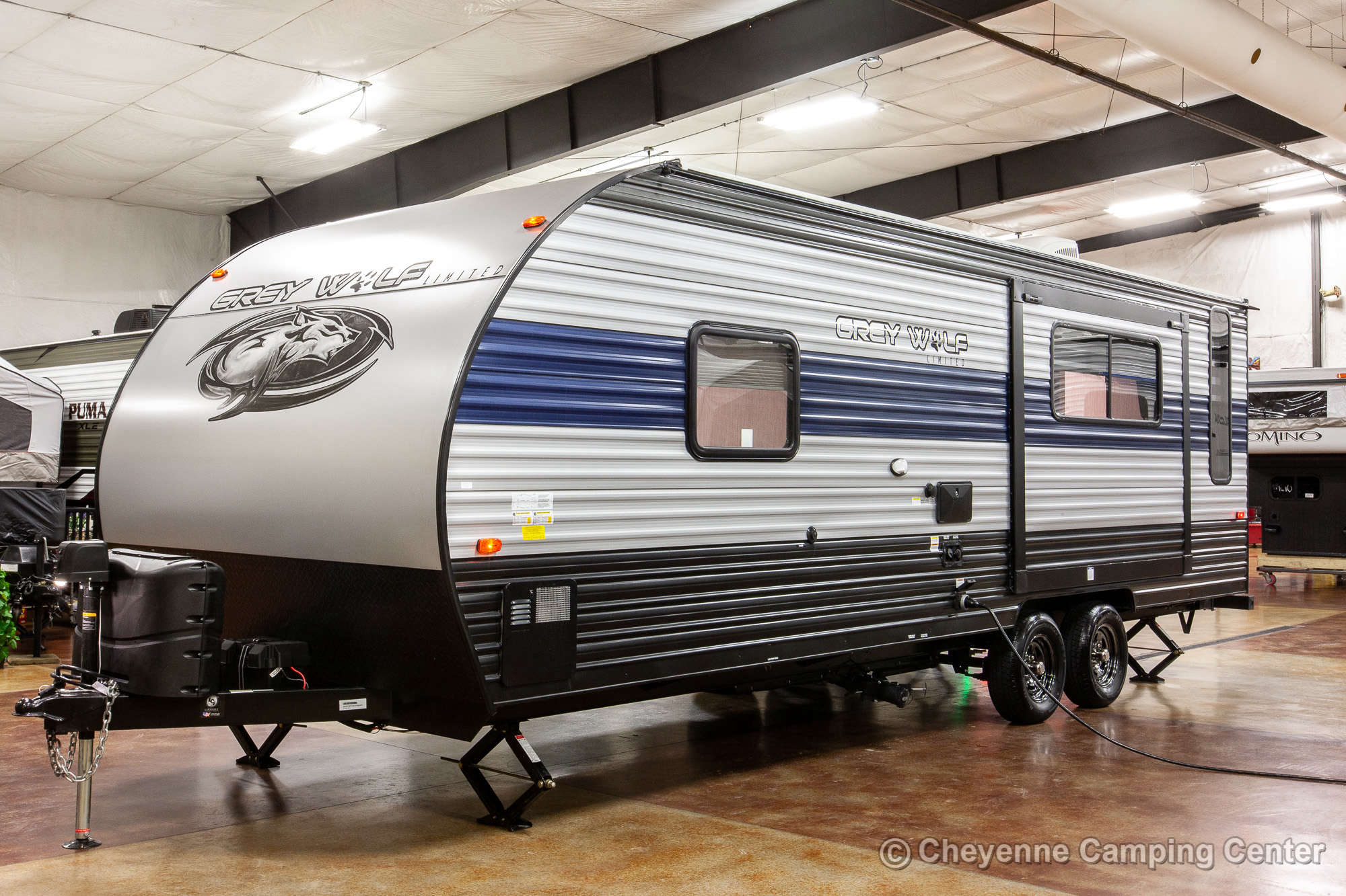 2021 Forest River Cherokee Grey Wolf 23MK Travel Trailer Exterior Image