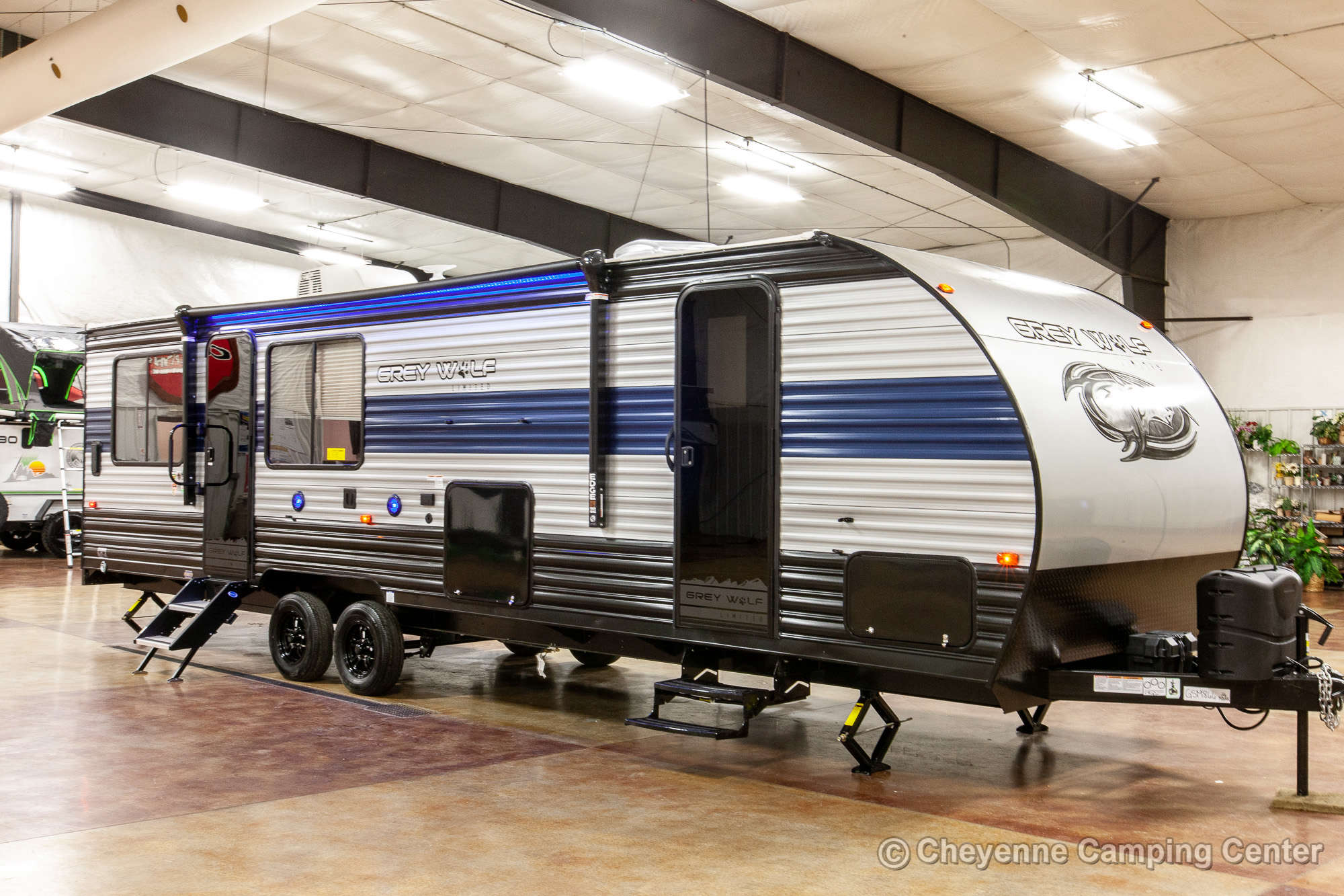 2022 Forest River Cherokee Grey Wolf 26MBRR Toy Hauler Travel Trailer